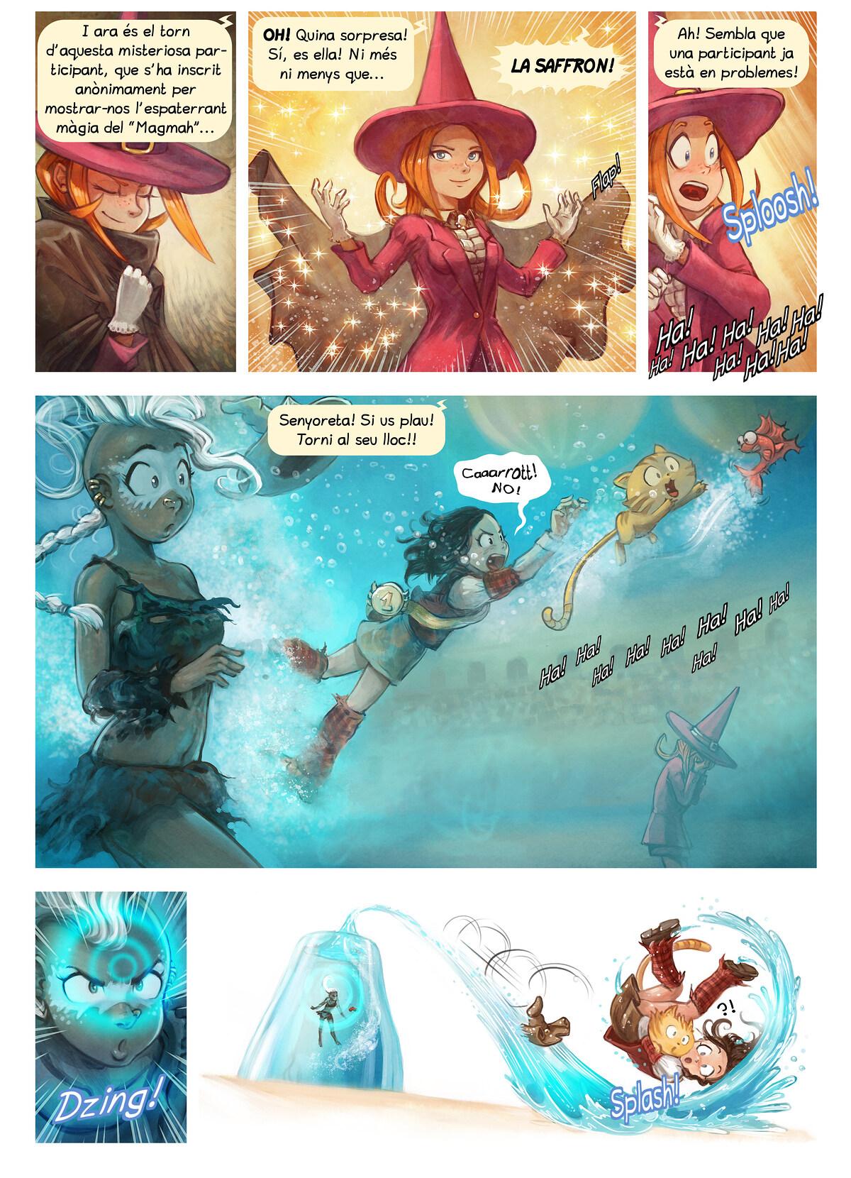 A webcomic page of Pepper&Carrot, episodi 21 [ca], pàgina 6