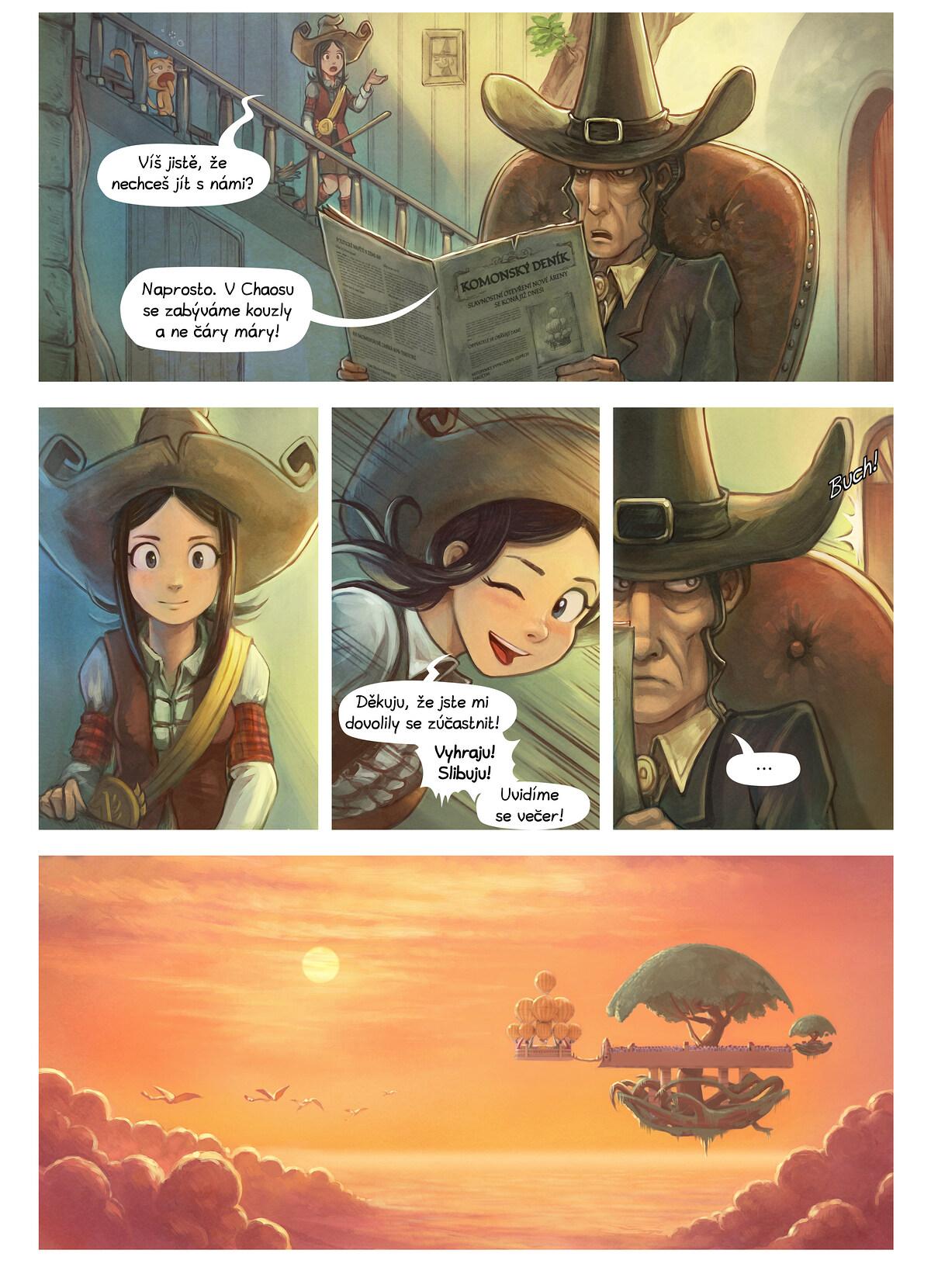 A webcomic page of Pepper&Carrot, epizoda 21 [cs], strana 2