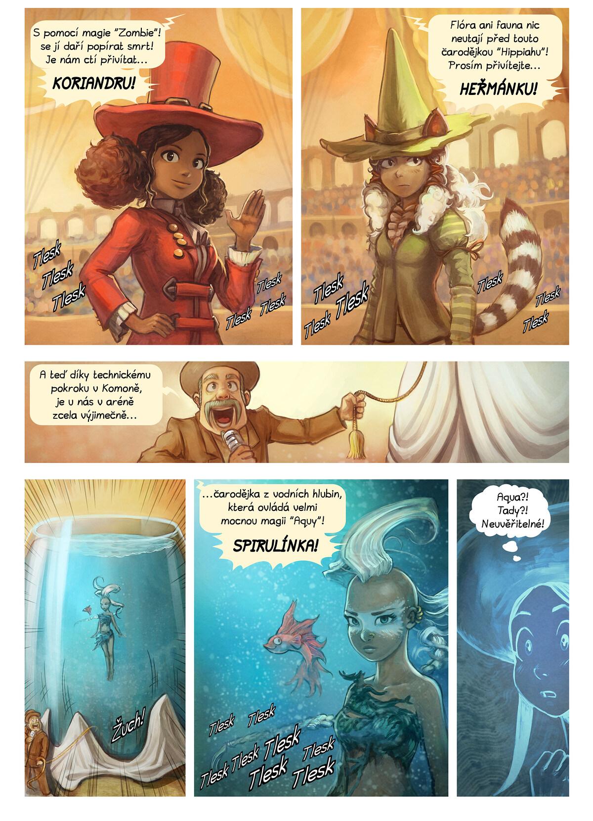 A webcomic page of Pepper&Carrot, epizoda 21 [cs], strana 4