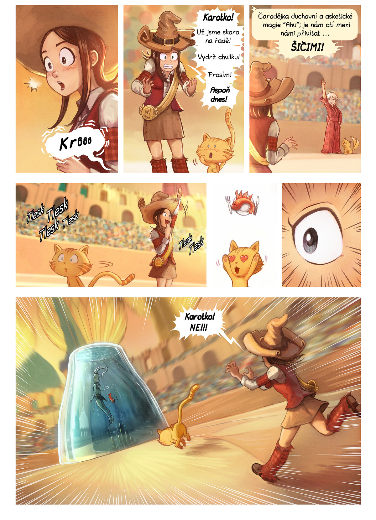 A webcomic page of Pepper&Carrot, epizoda 21 [cs], strana 5
