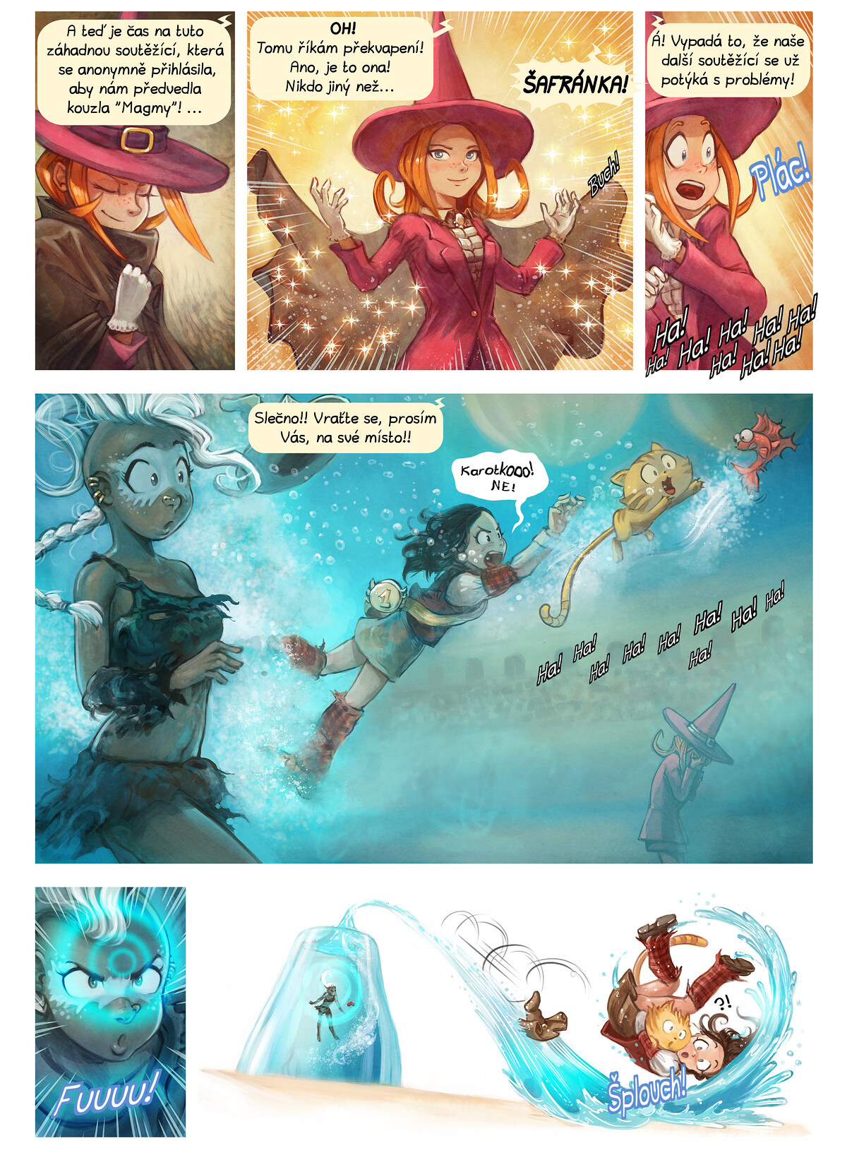 A webcomic page of Pepper&Carrot, epizoda 21 [cs], strana 6
