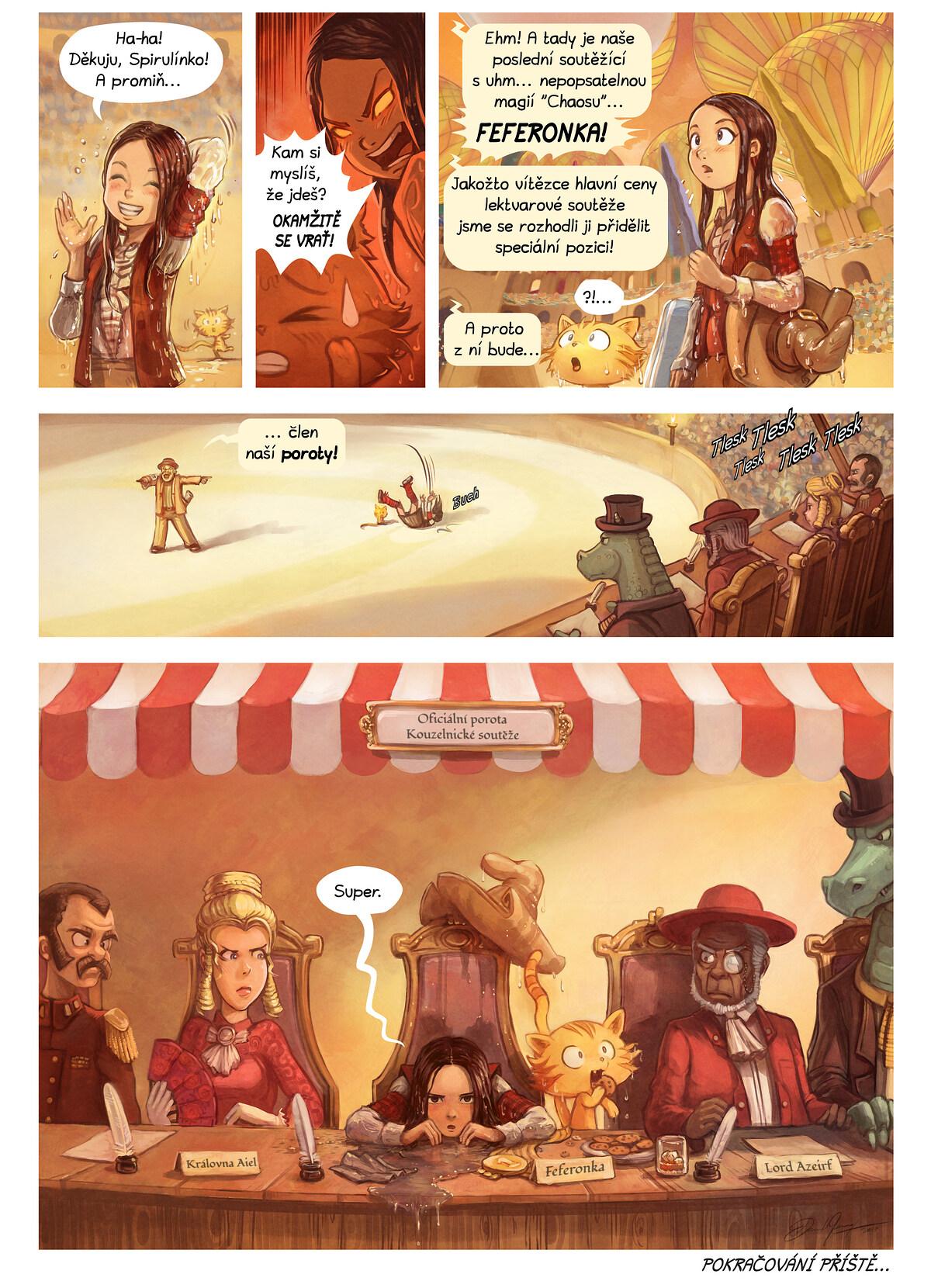 A webcomic page of Pepper&Carrot, epizoda 21 [cs], strana 7