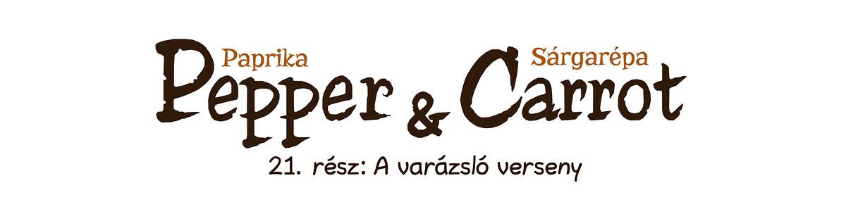 A webcomic page of Pepper&Carrot, epizód 21 [hu], oldal 0