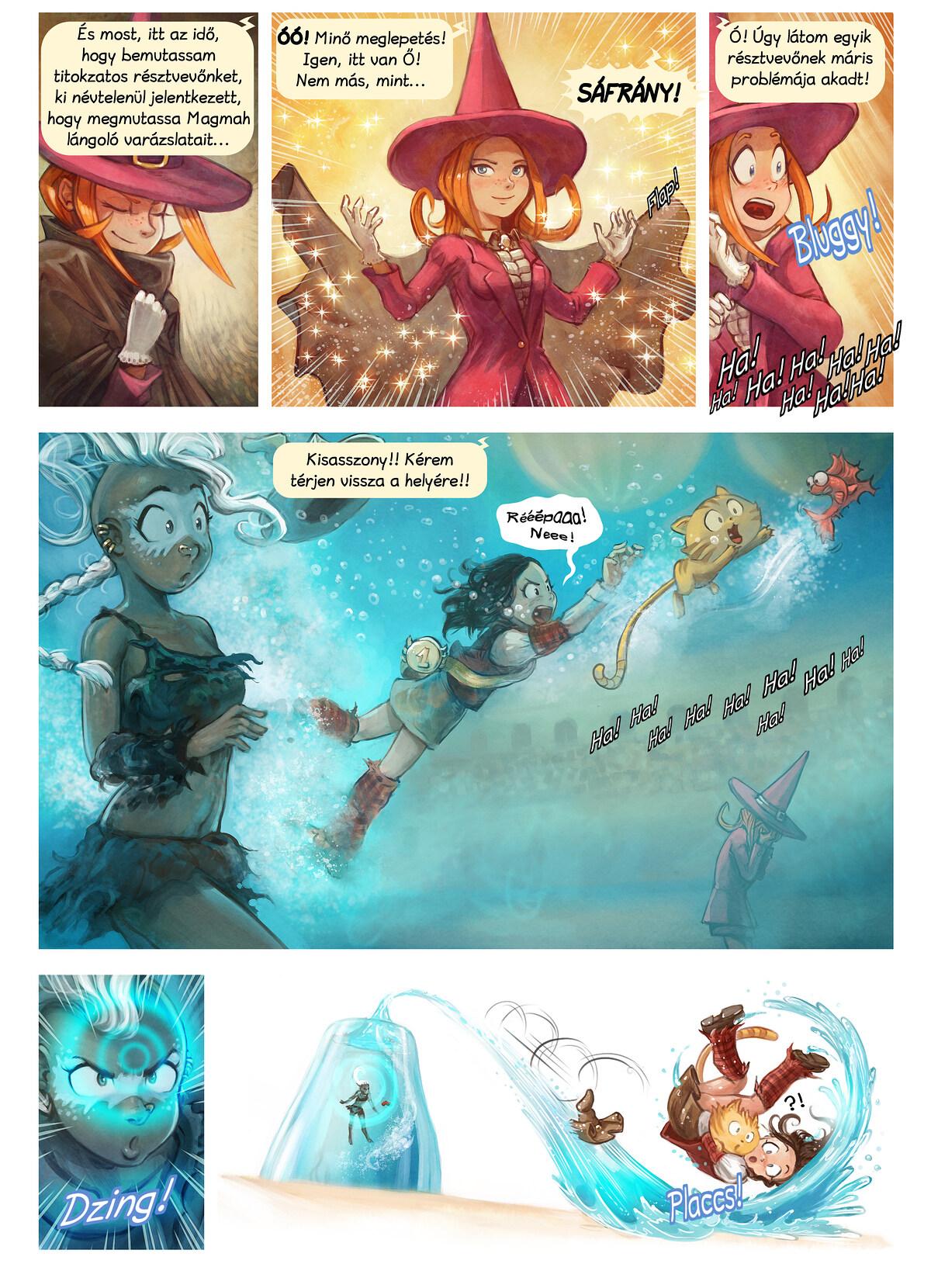 A webcomic page of Pepper&Carrot, epizód 21 [hu], oldal 6