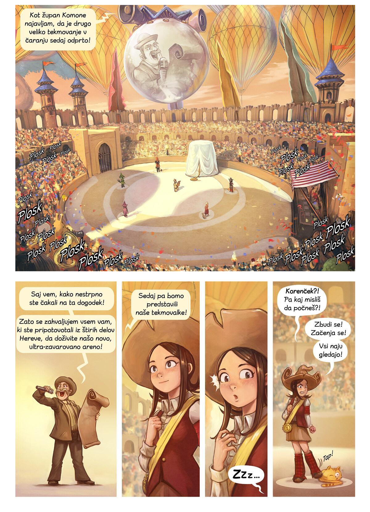 Epizoda 21: Tekmovanje v čaranju, Page 3