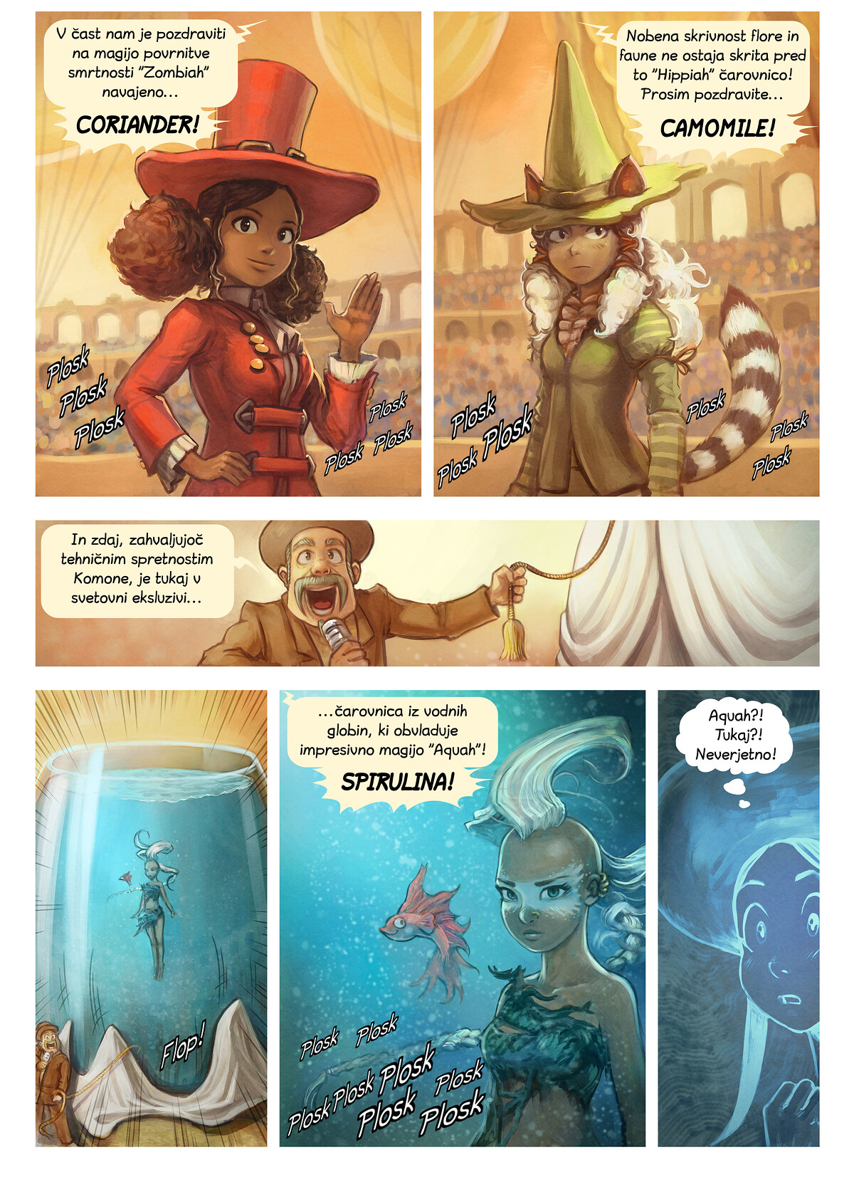 Epizoda 21: Tekmovanje v čaranju, Page 4