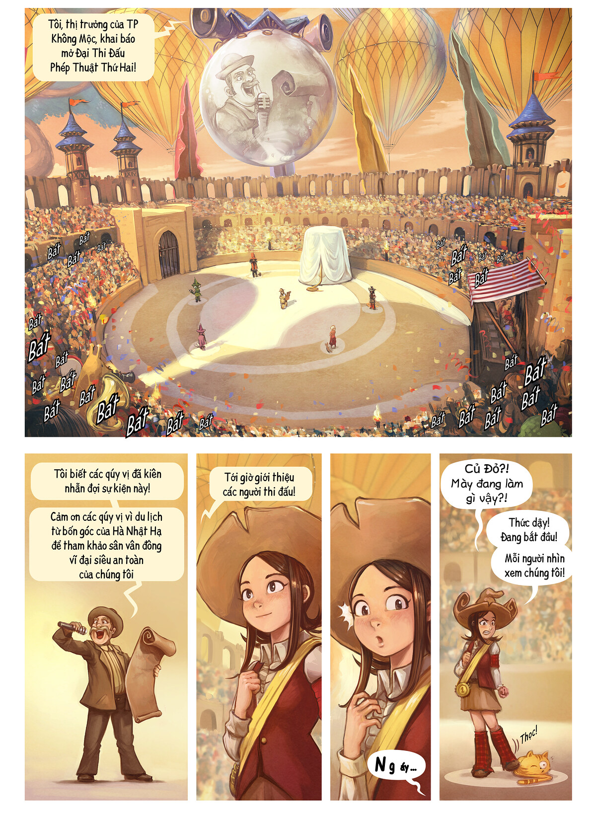 A webcomic page of Pepper&Carrot, Tập 21 [vi], trang 3