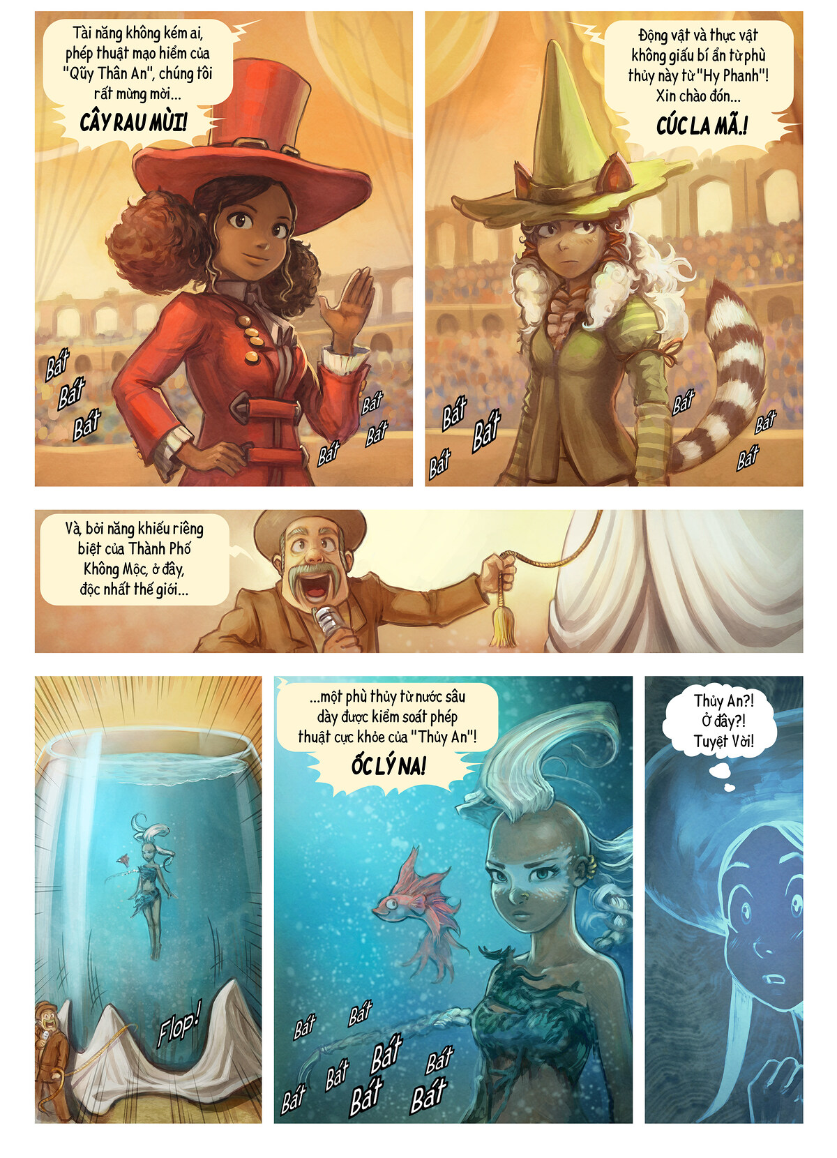A webcomic page of Pepper&Carrot, Tập 21 [vi], trang 4