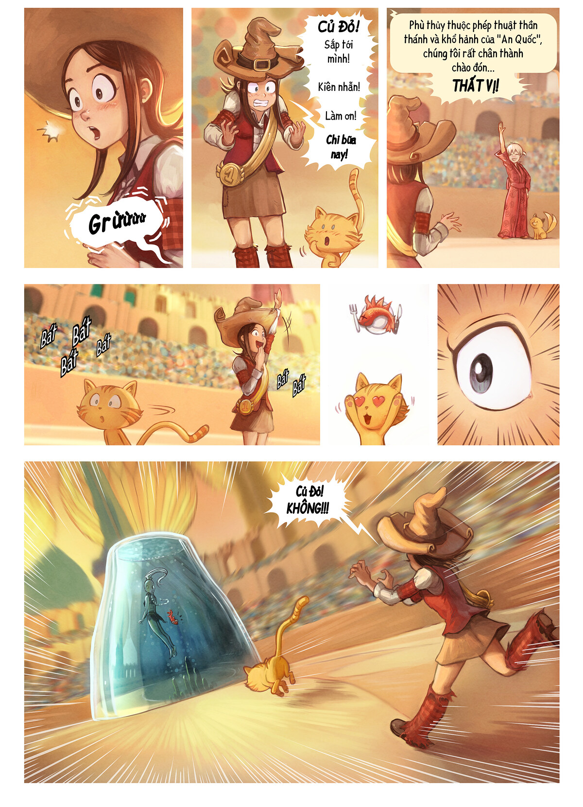 A webcomic page of Pepper&Carrot, Tập 21 [vi], trang 5