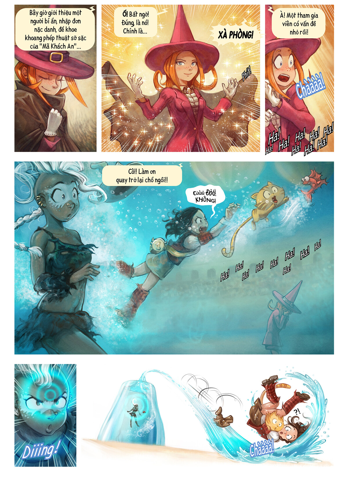 A webcomic page of Pepper&Carrot, Tập 21 [vi], trang 6