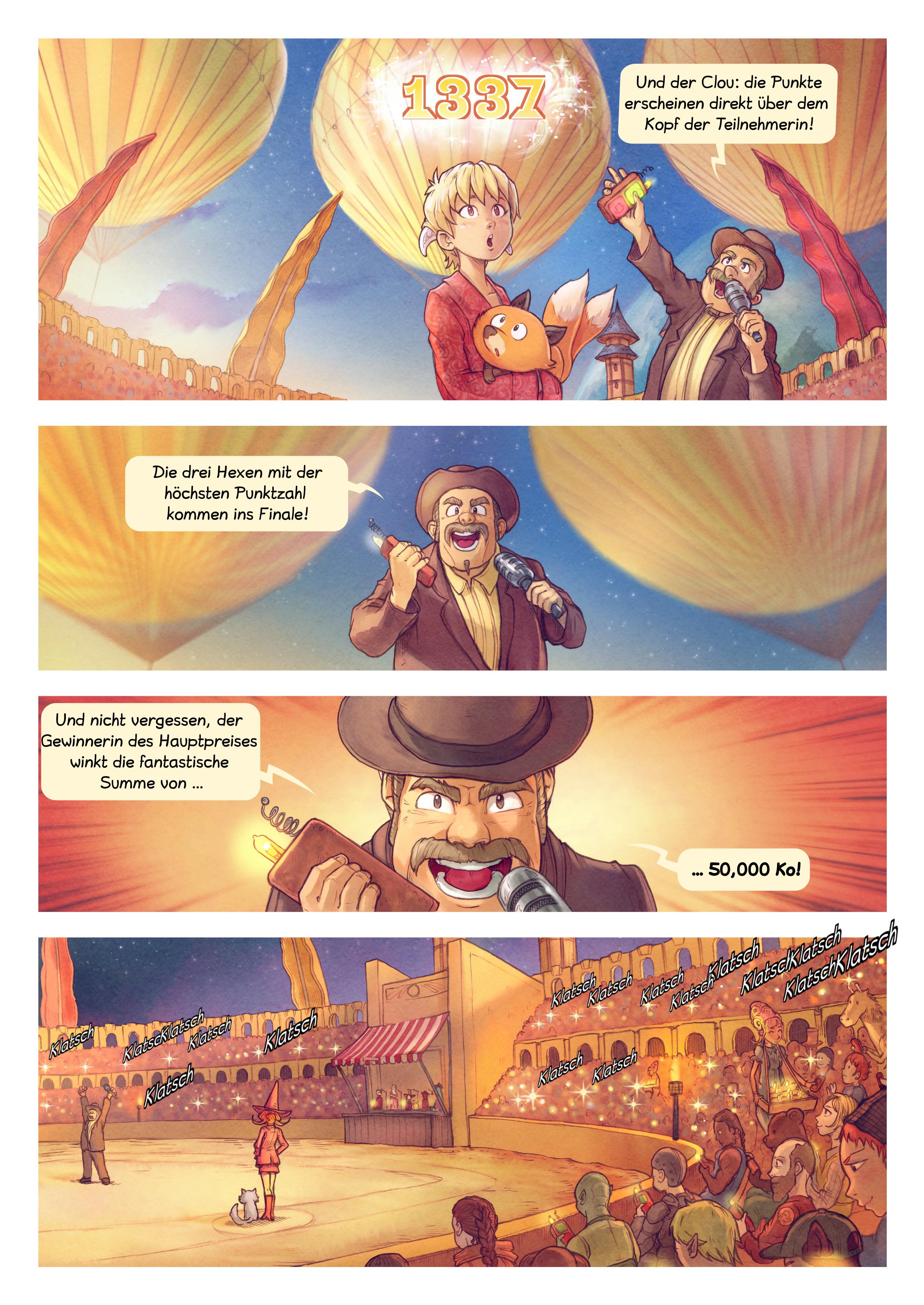 A webcomic page of Pepper&Carrot, Episode 22 [de], Seite 3
