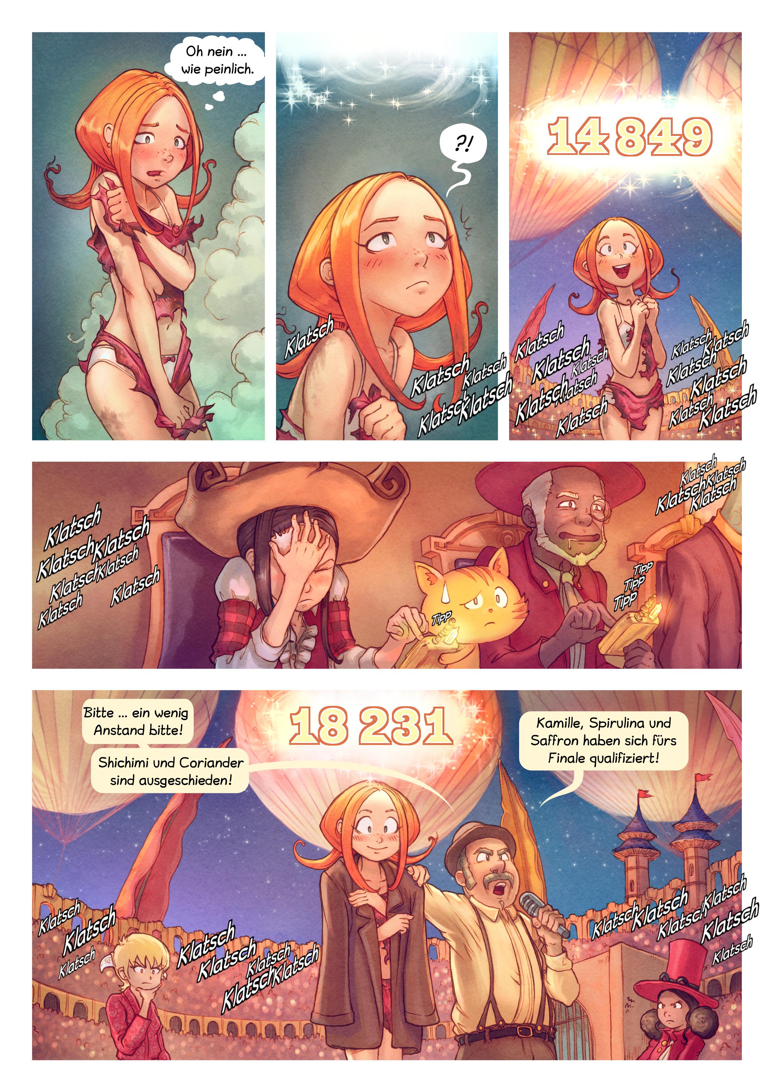A webcomic page of Pepper&Carrot, Episode 22 [de], Seite 9
