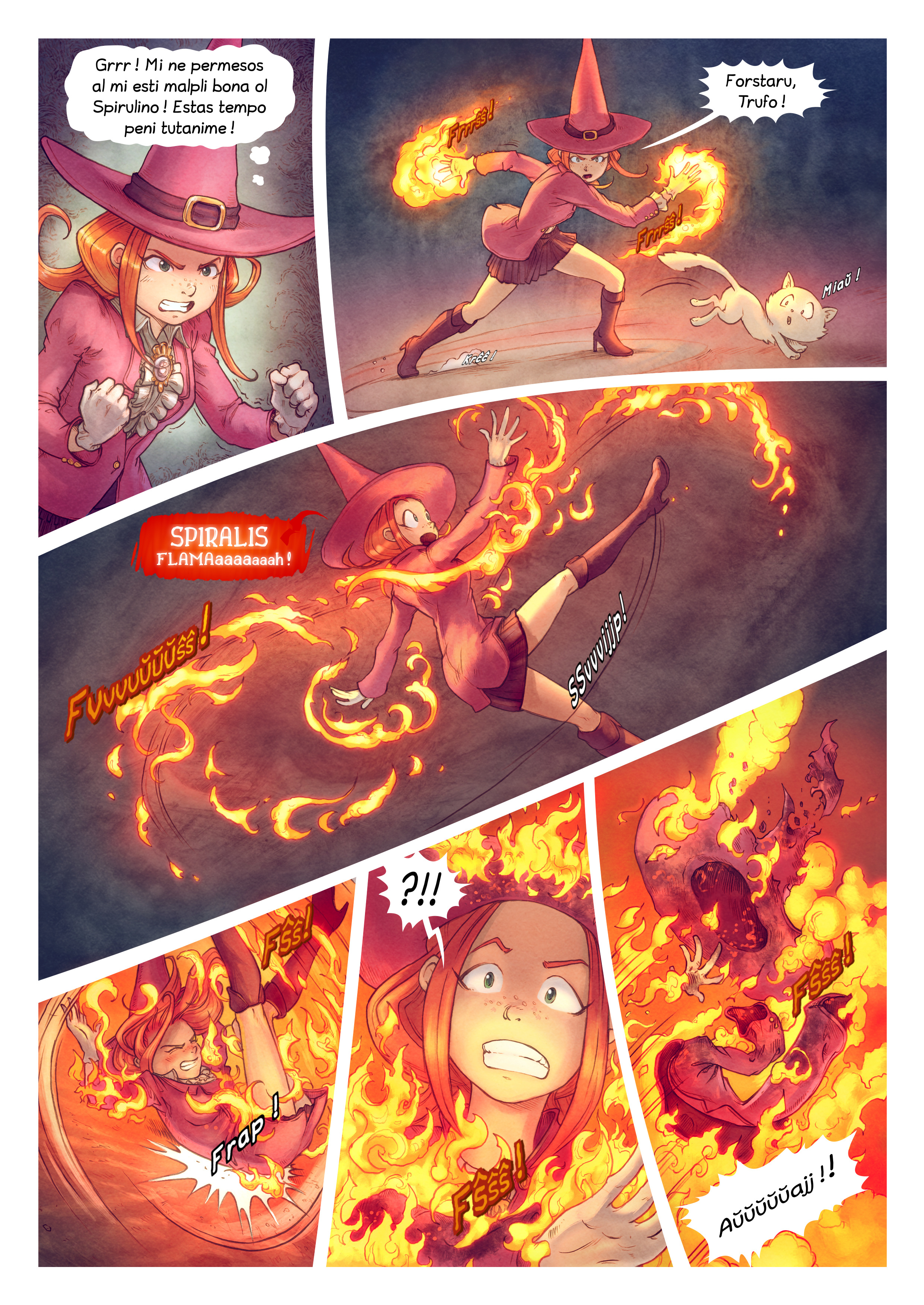 A webcomic page of Pepper&Carrot, rakonto 22 [eo], paĝo 8