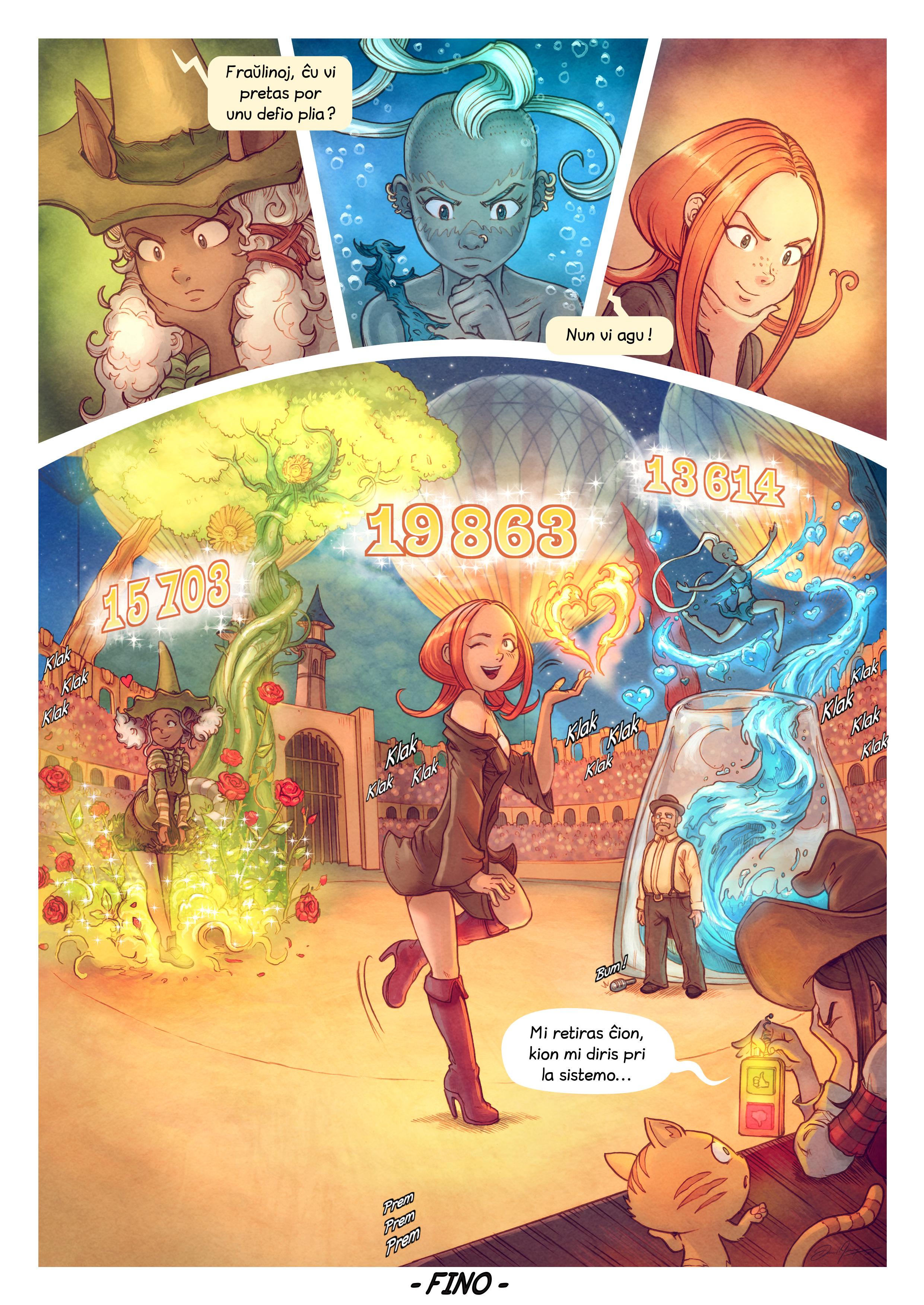 A webcomic page of Pepper&Carrot, rakonto 22 [eo], paĝo 10