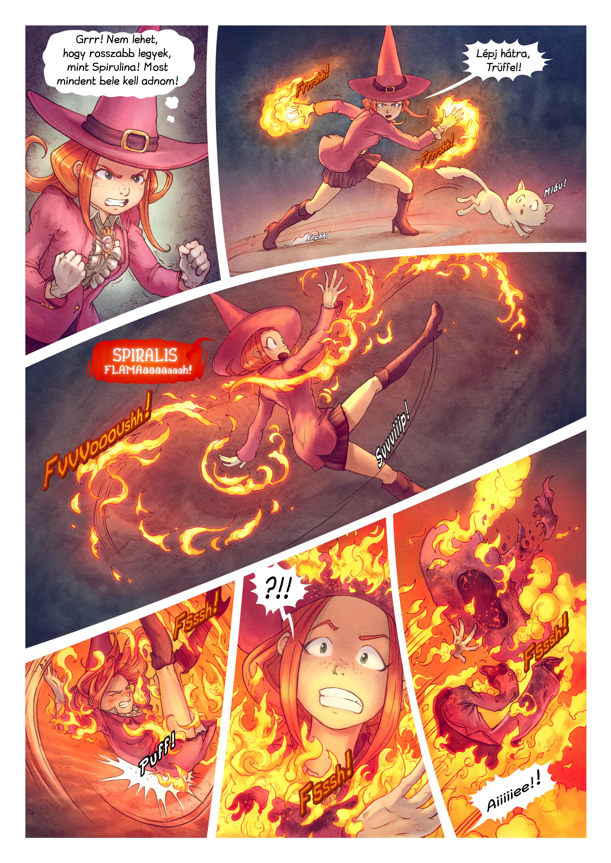 A webcomic page of Pepper&Carrot, epizód 22 [hu], oldal 8