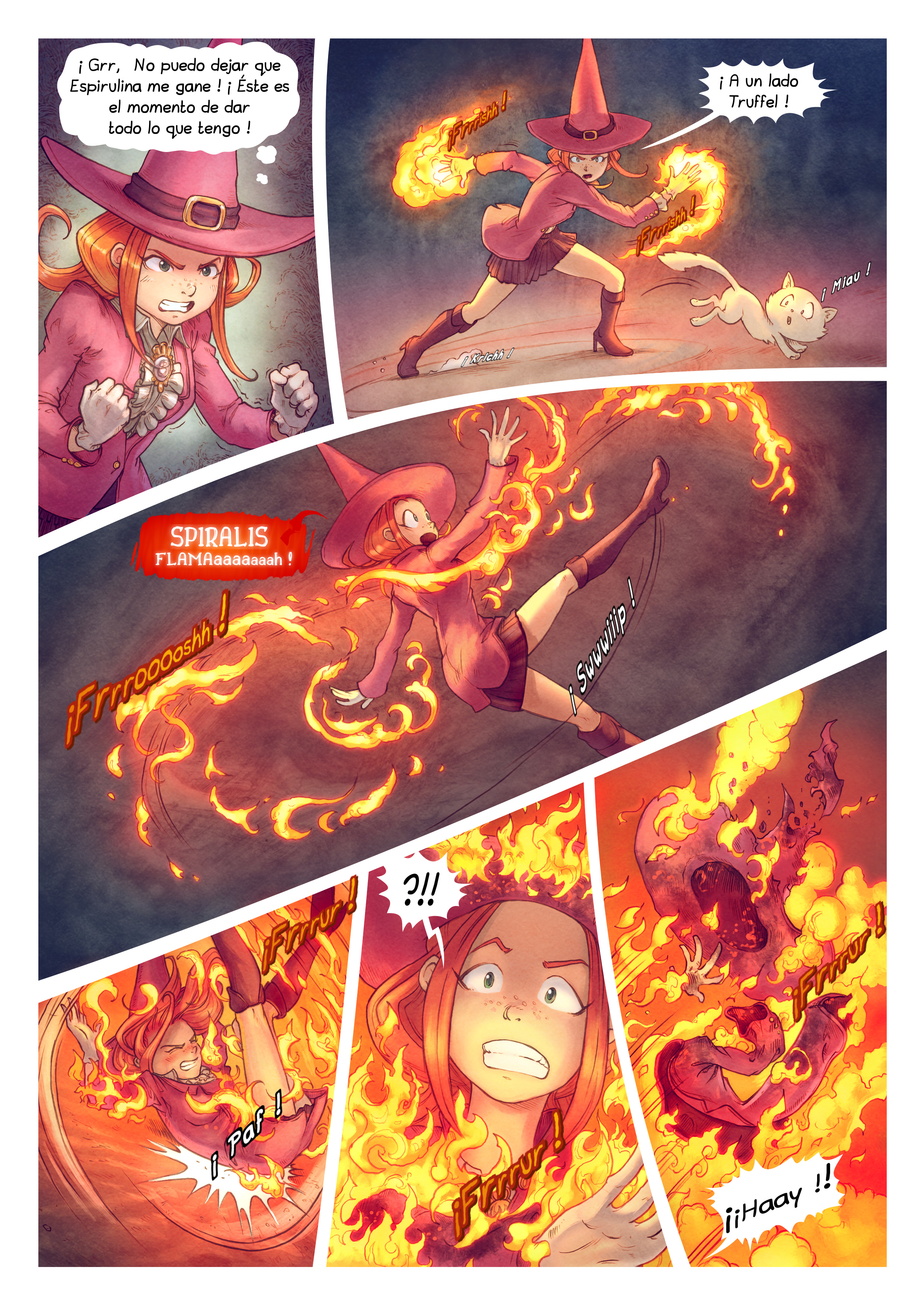 A webcomic page of Pepper&Carrot, episode 22 [mx], page 8