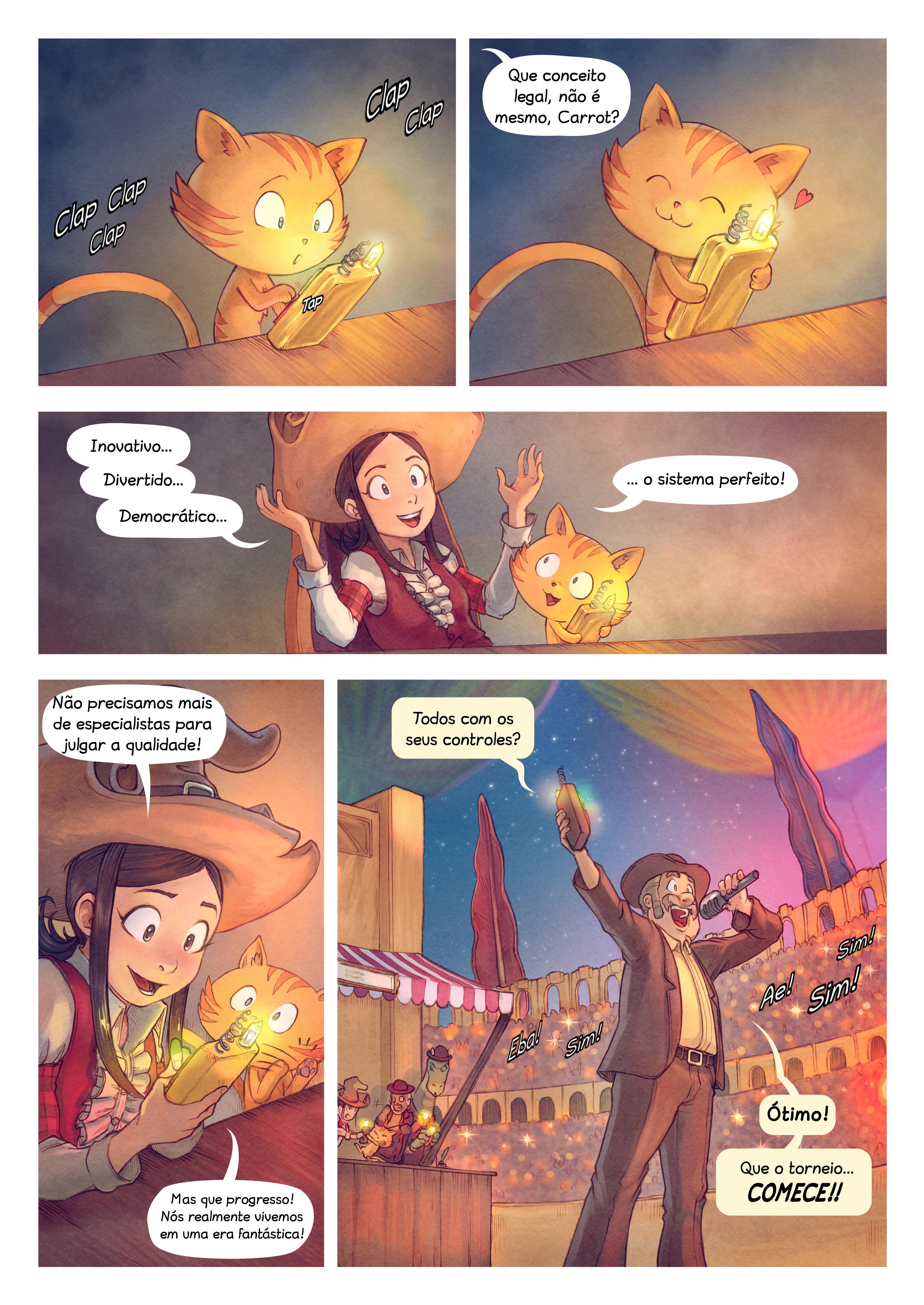 A webcomic page of Pepper&Carrot, episódio 22 [pt], página 4