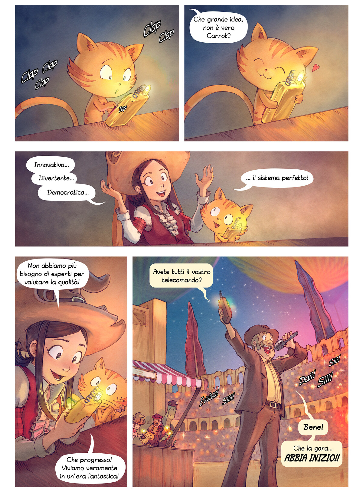A webcomic page of Pepper&Carrot, episodio 22 [it], pagina 4