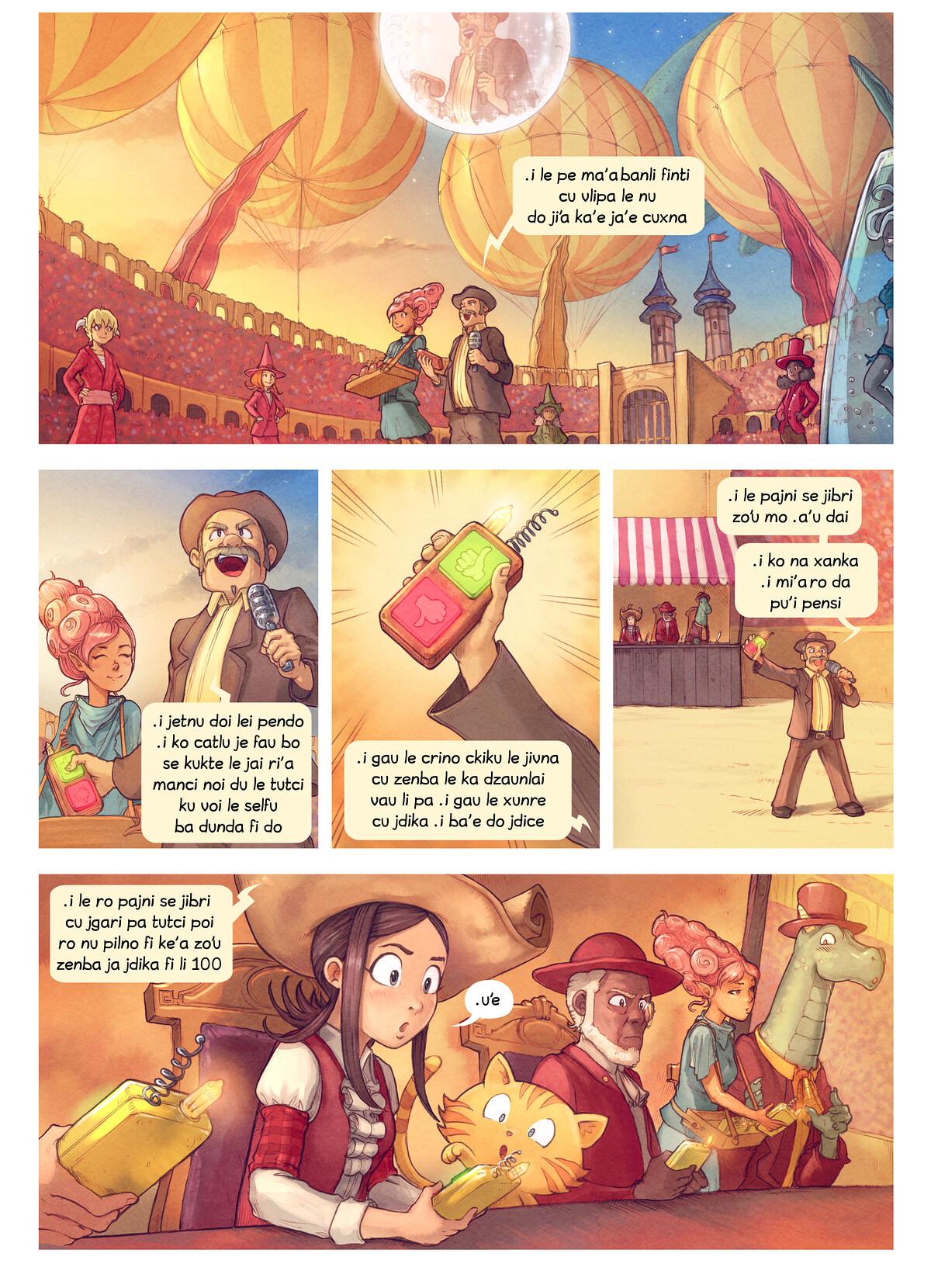 A webcomic page of Pepper&Carrot, pagbu 22 [jb], papri 2