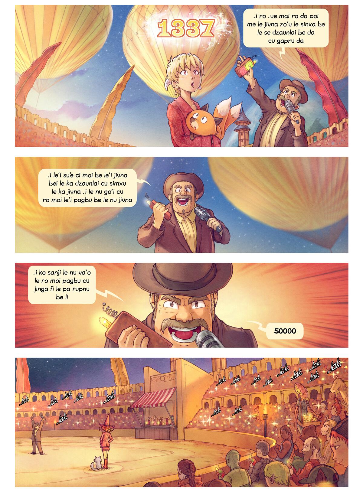 A webcomic page of Pepper&Carrot, pagbu 22 [jb], papri 3