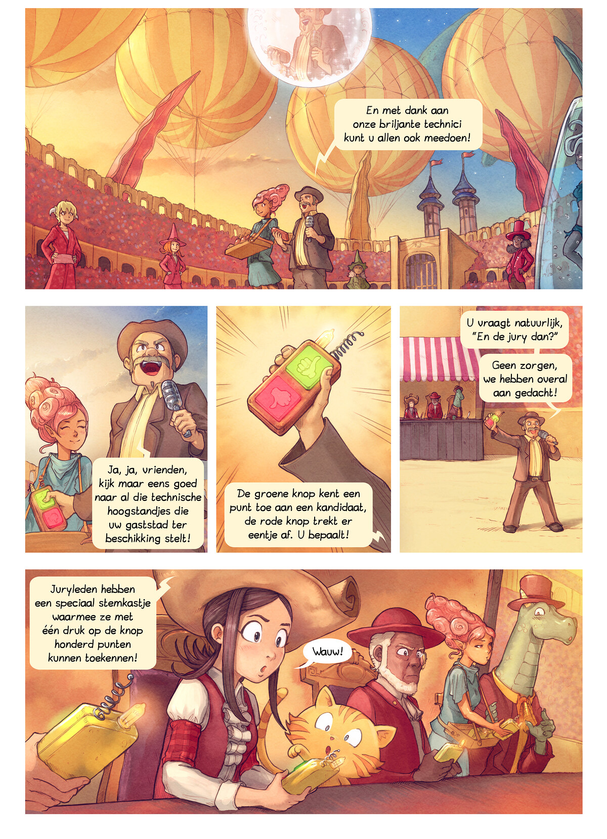 A webcomic page of Pepper&Carrot, aflevering 22 [nl], pagina 2
