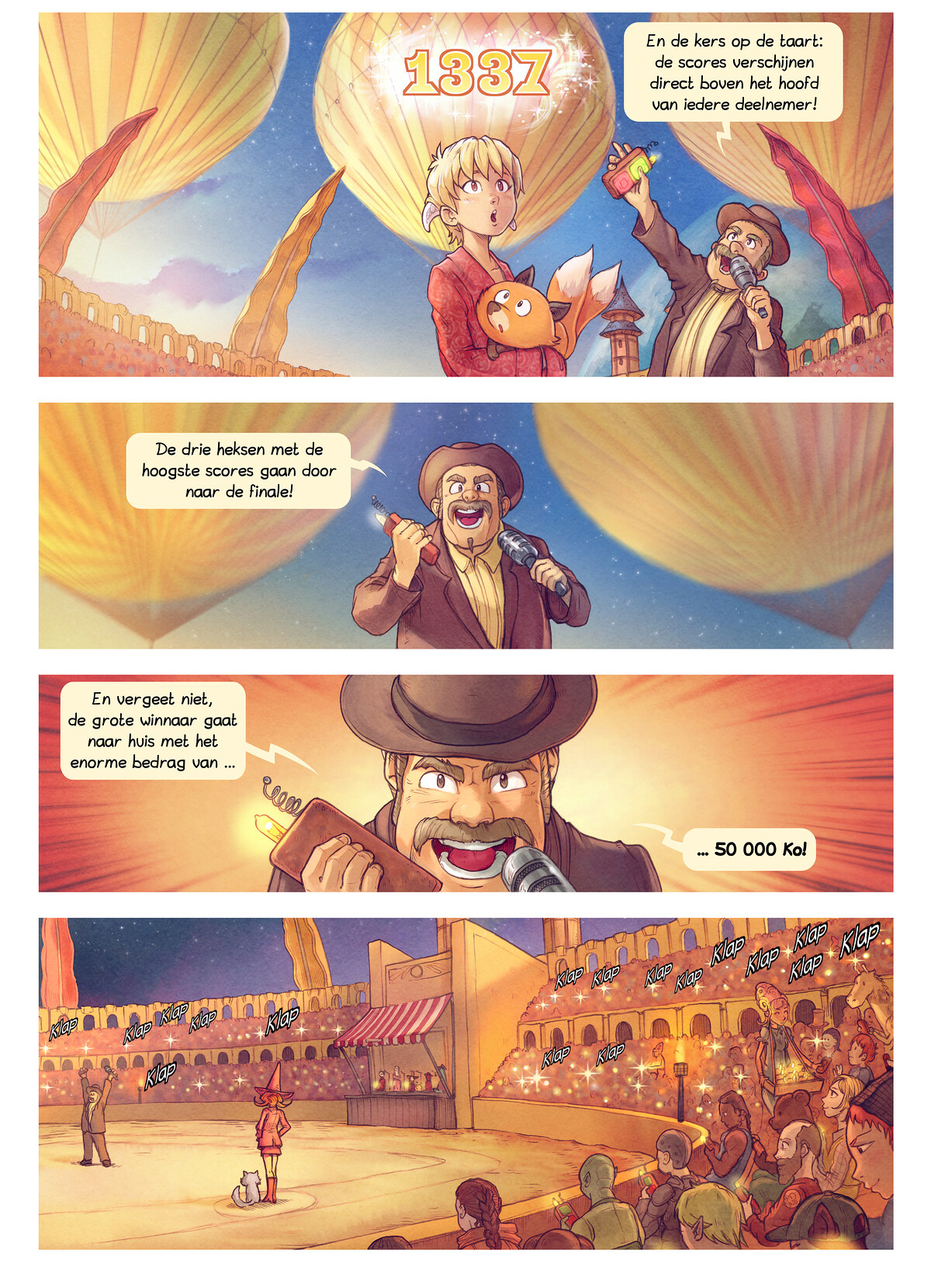 A webcomic page of Pepper&Carrot, aflevering 22 [nl], pagina 3