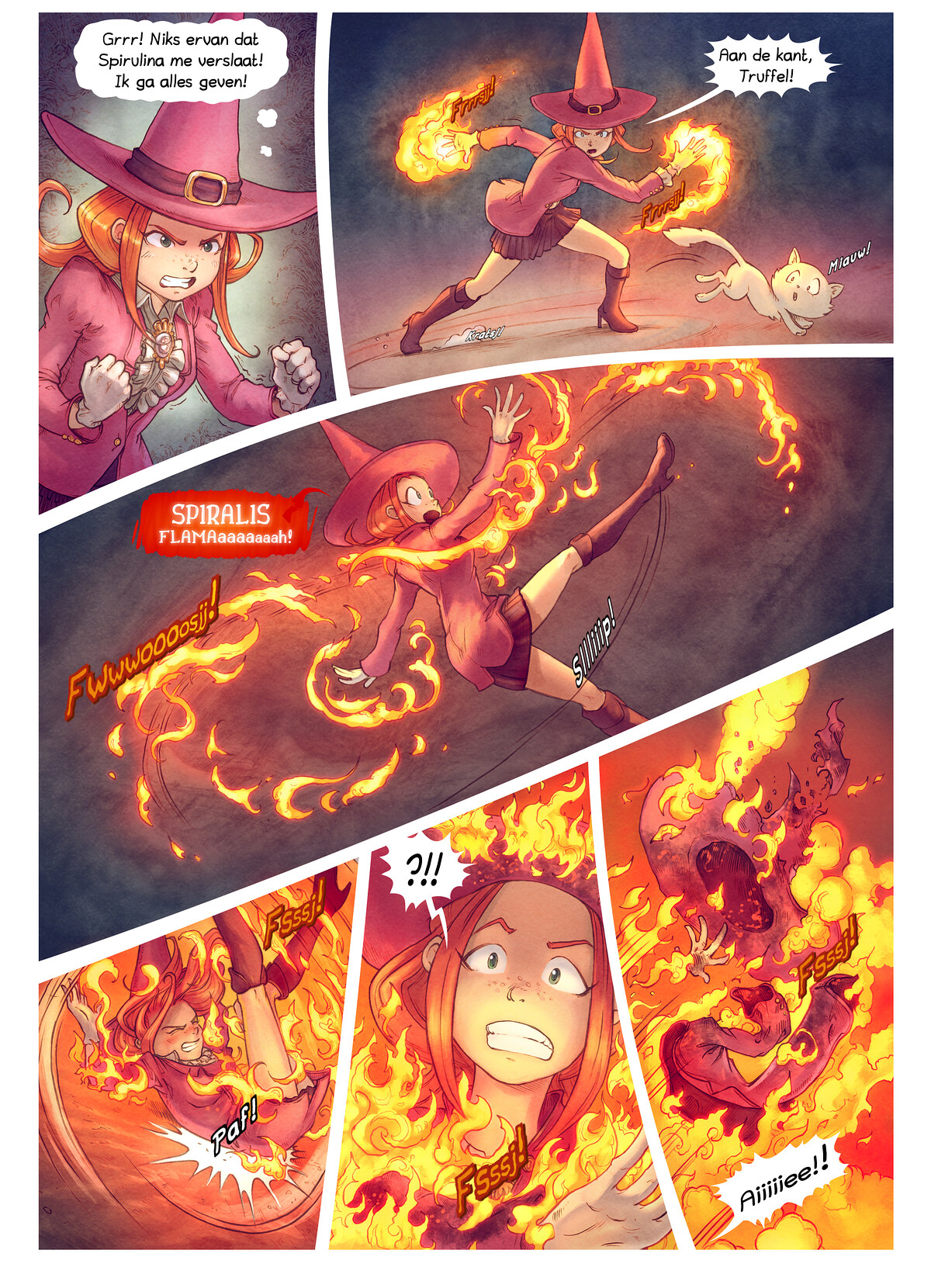 A webcomic page of Pepper&Carrot, aflevering 22 [nl], pagina 8