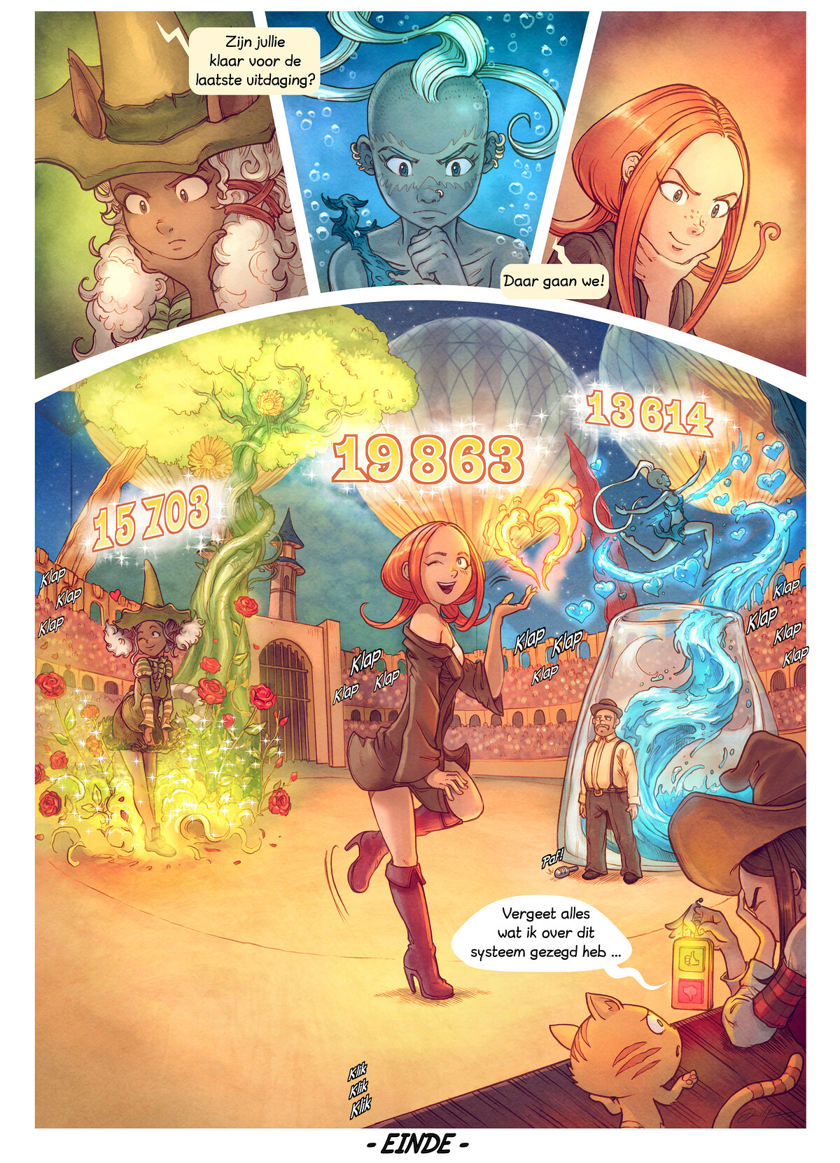 A webcomic page of Pepper&Carrot, aflevering 22 [nl], pagina 10