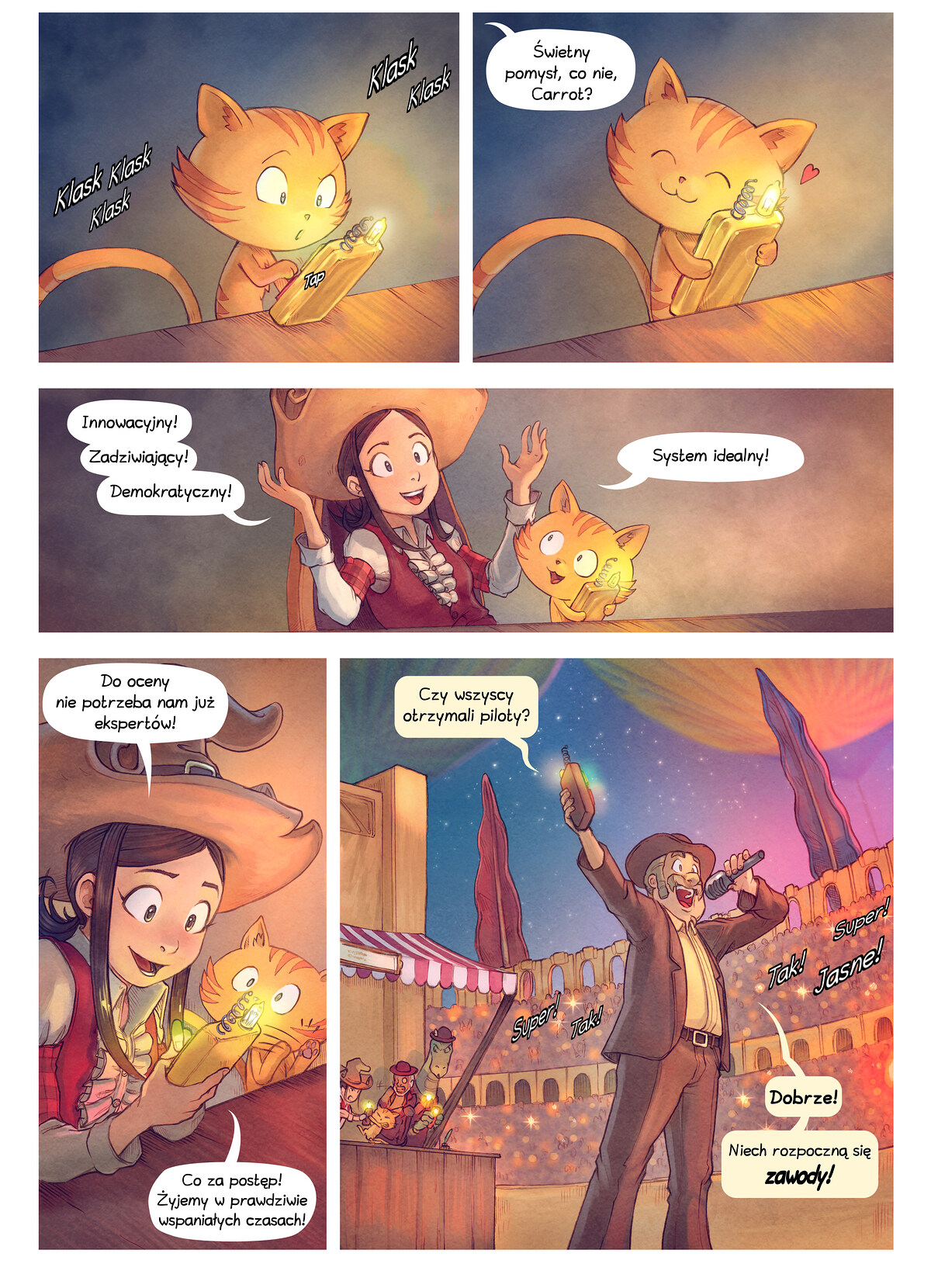 A webcomic page of Pepper&Carrot, odcinek 22 [pl], strona 4