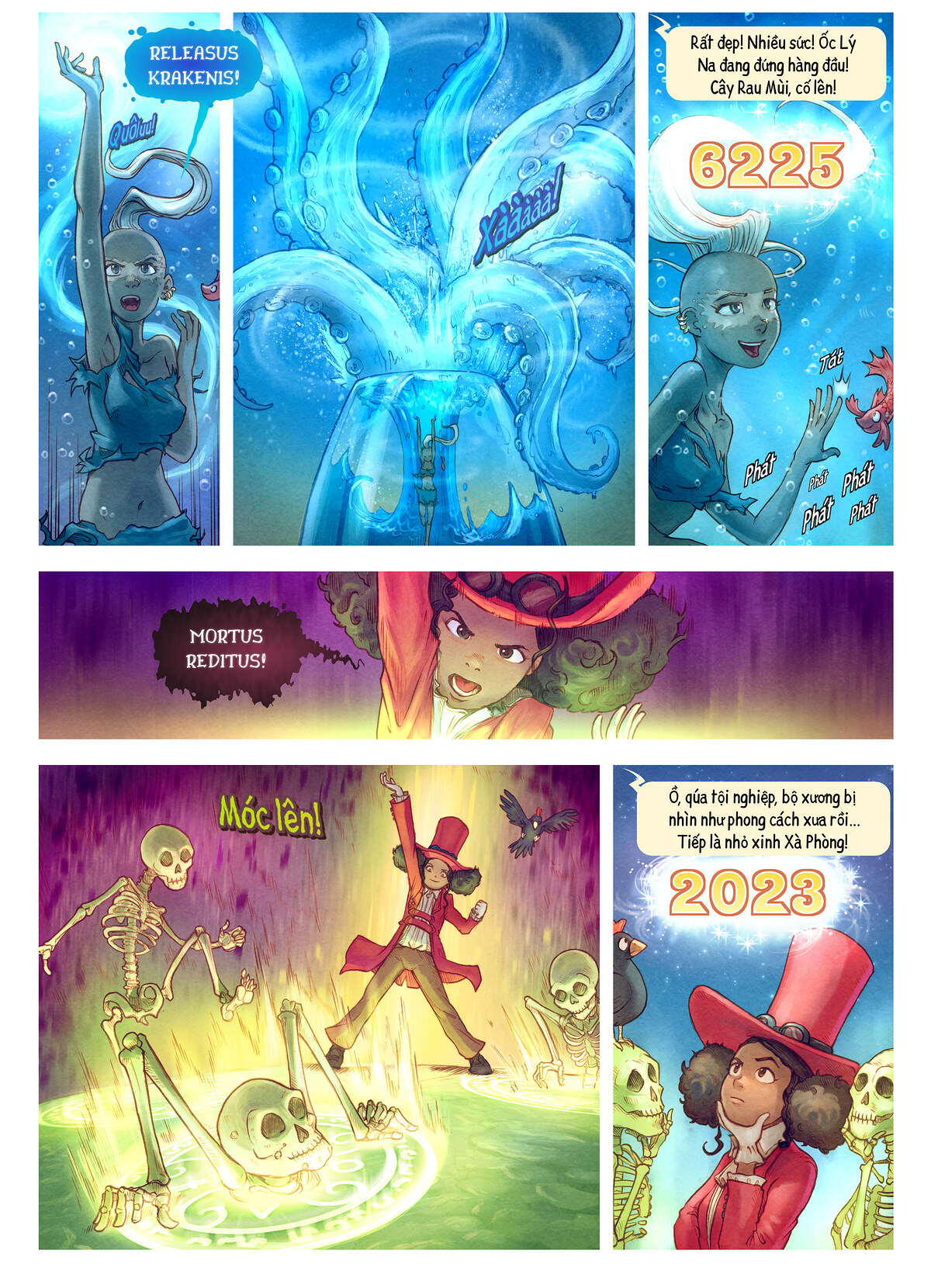 A webcomic page of Pepper&Carrot, Tập 22 [vi], trang 7