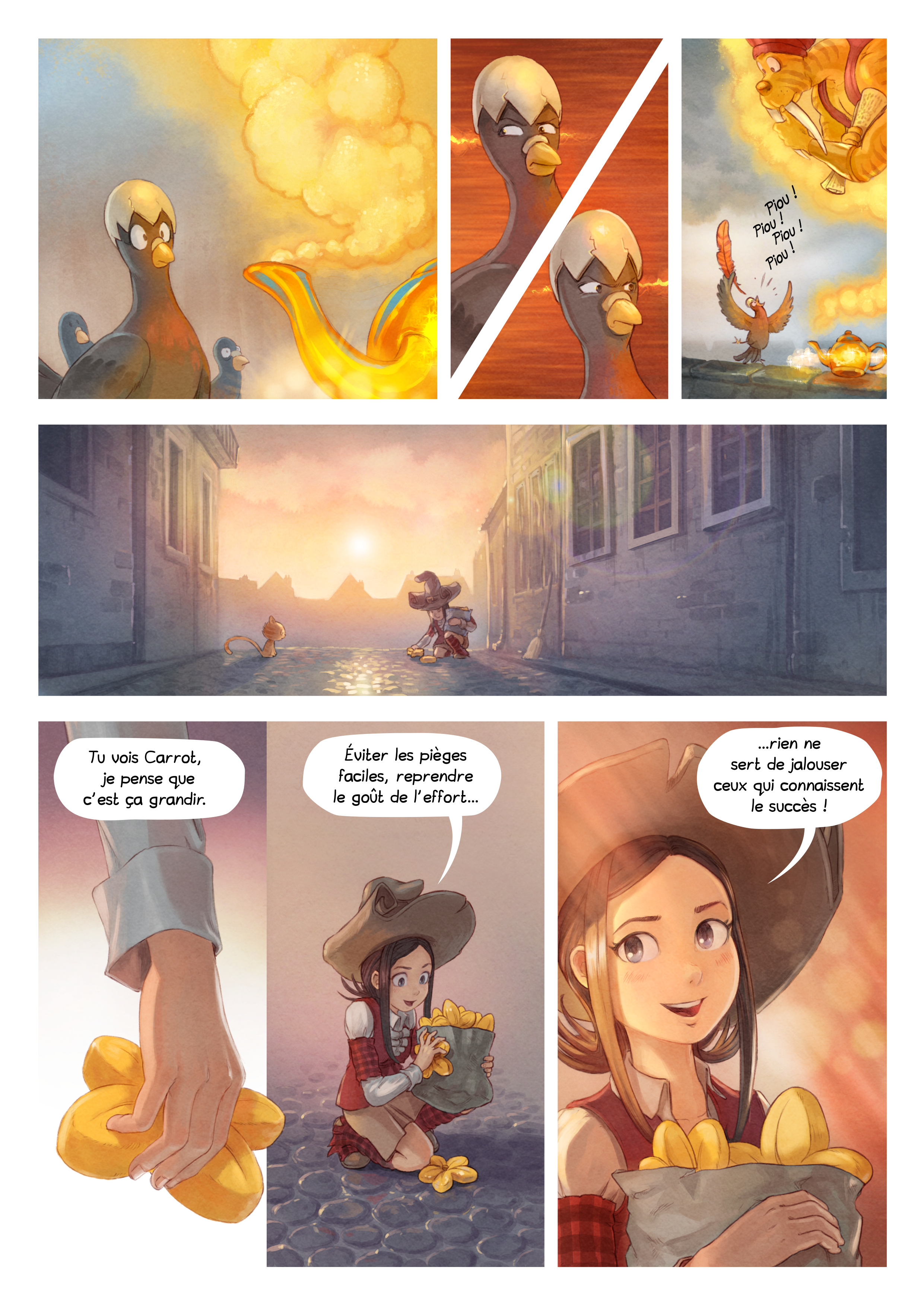 A webcomic page of Pepper&Carrot, épisode 23 [fr], page 6