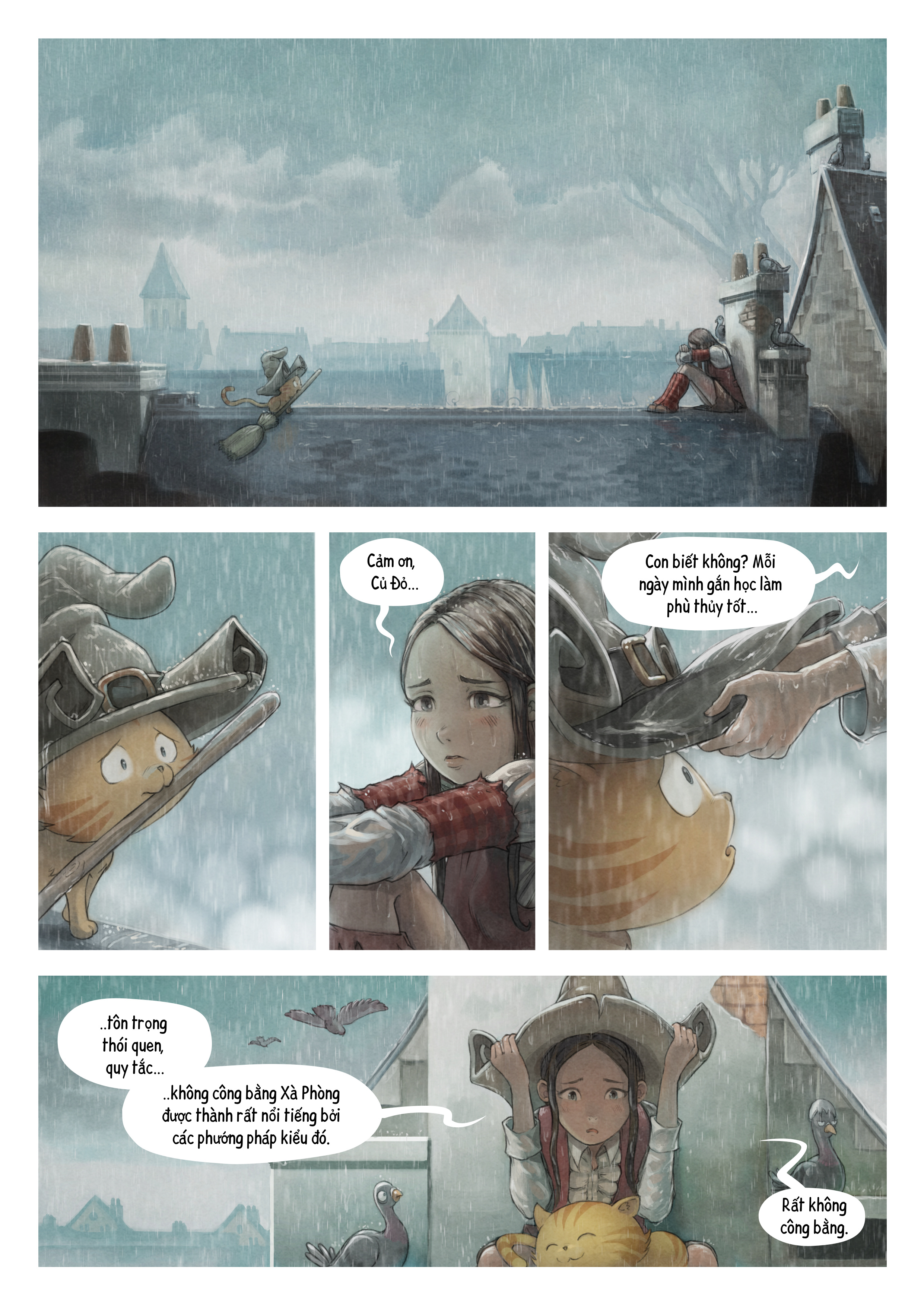 A webcomic page of Pepper&Carrot, Tập 23 [vi], trang 2
