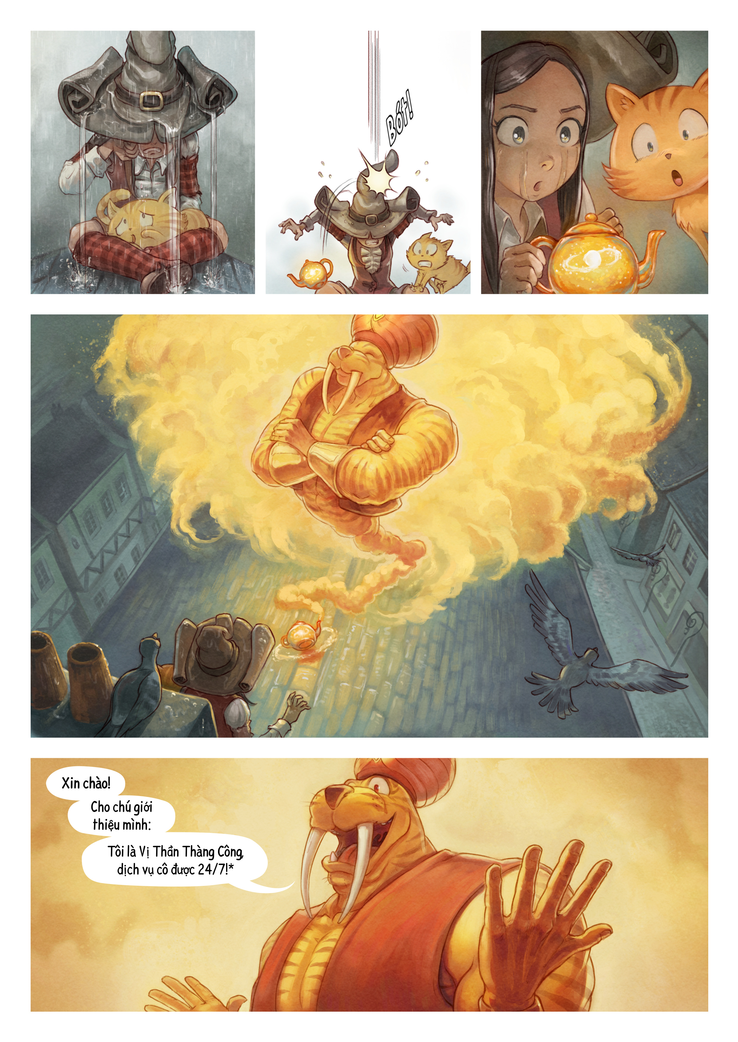 A webcomic page of Pepper&Carrot, Tập 23 [vi], trang 3