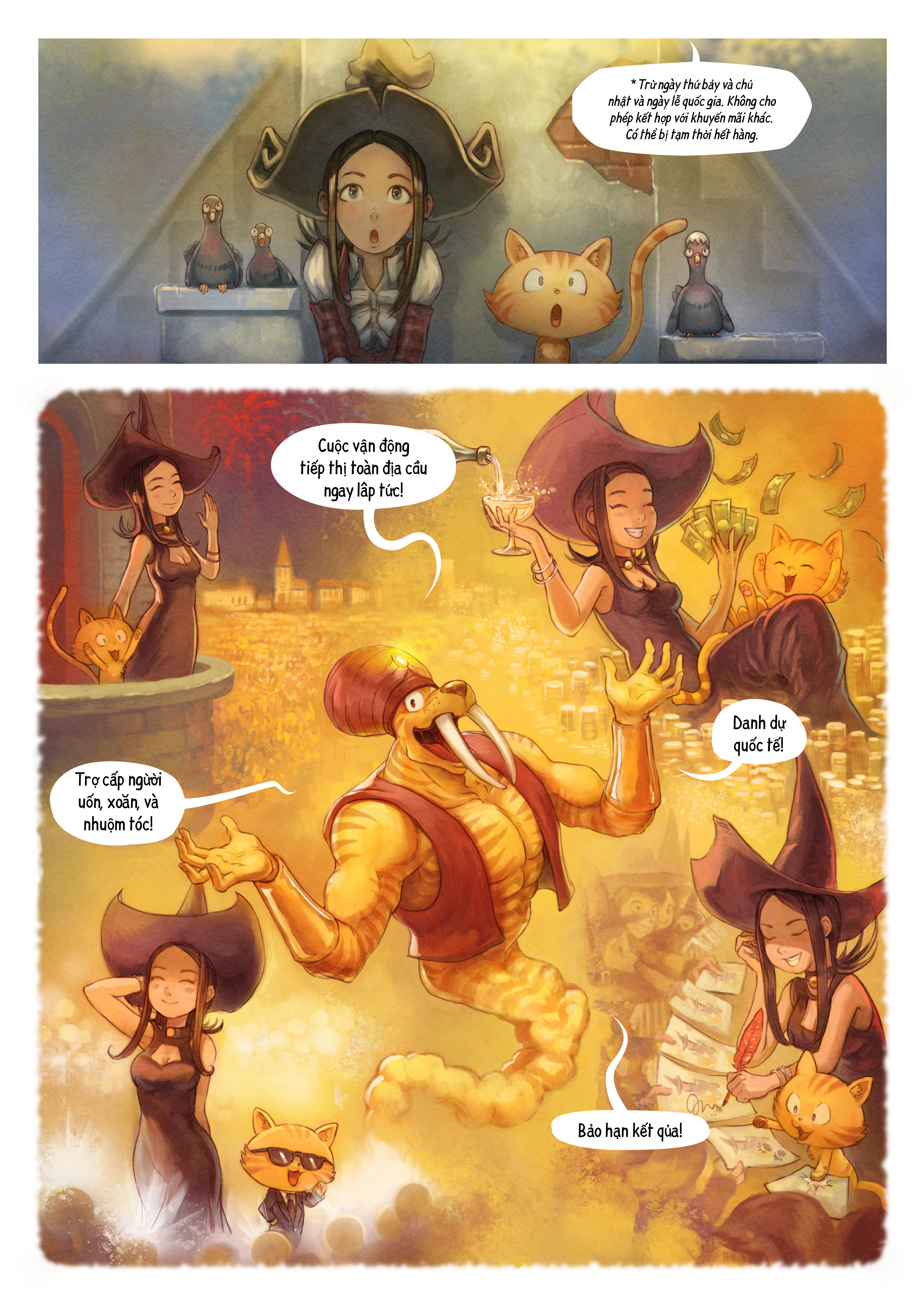 A webcomic page of Pepper&Carrot, Tập 23 [vi], trang 4