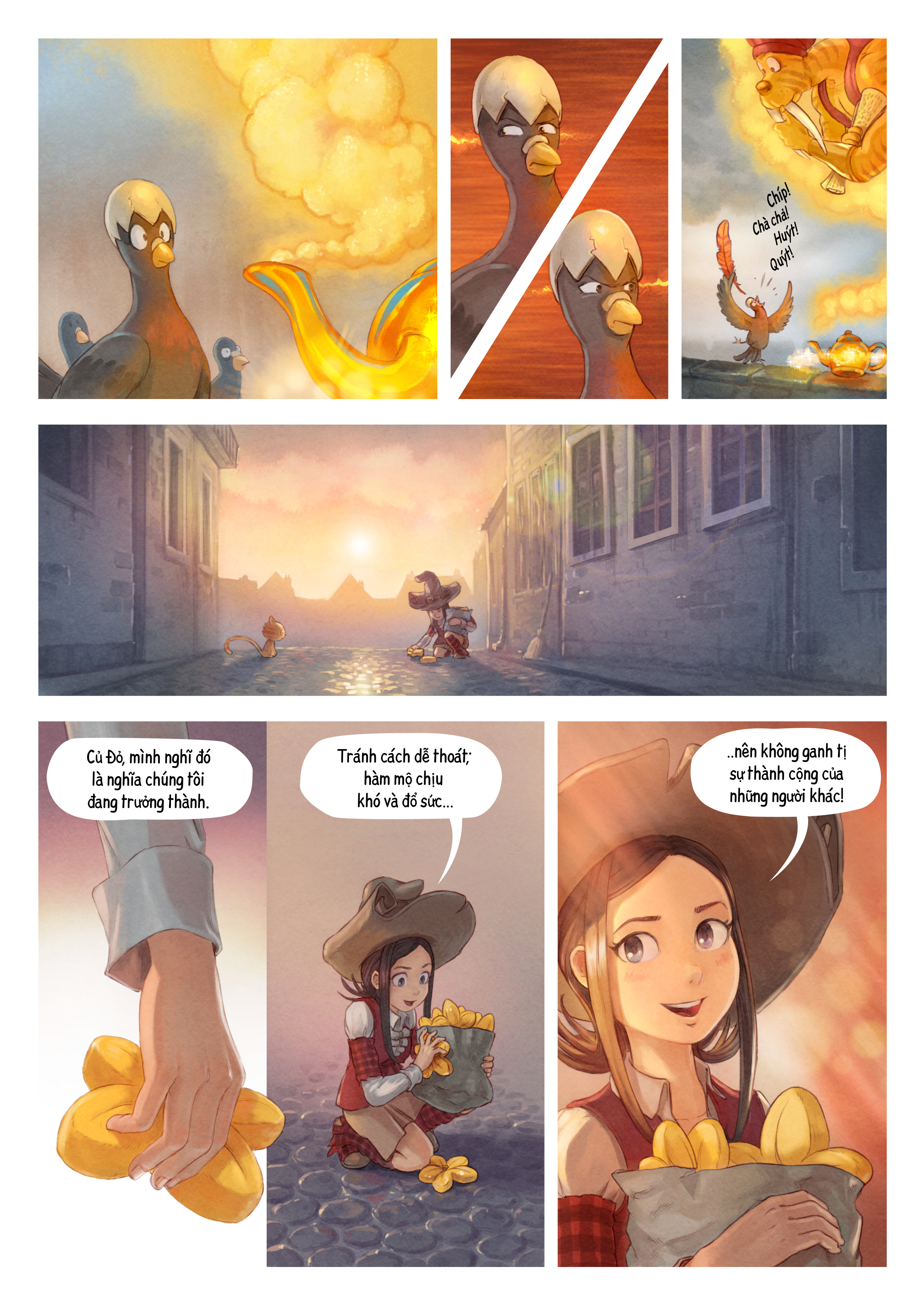 A webcomic page of Pepper&Carrot, Tập 23 [vi], trang 6
