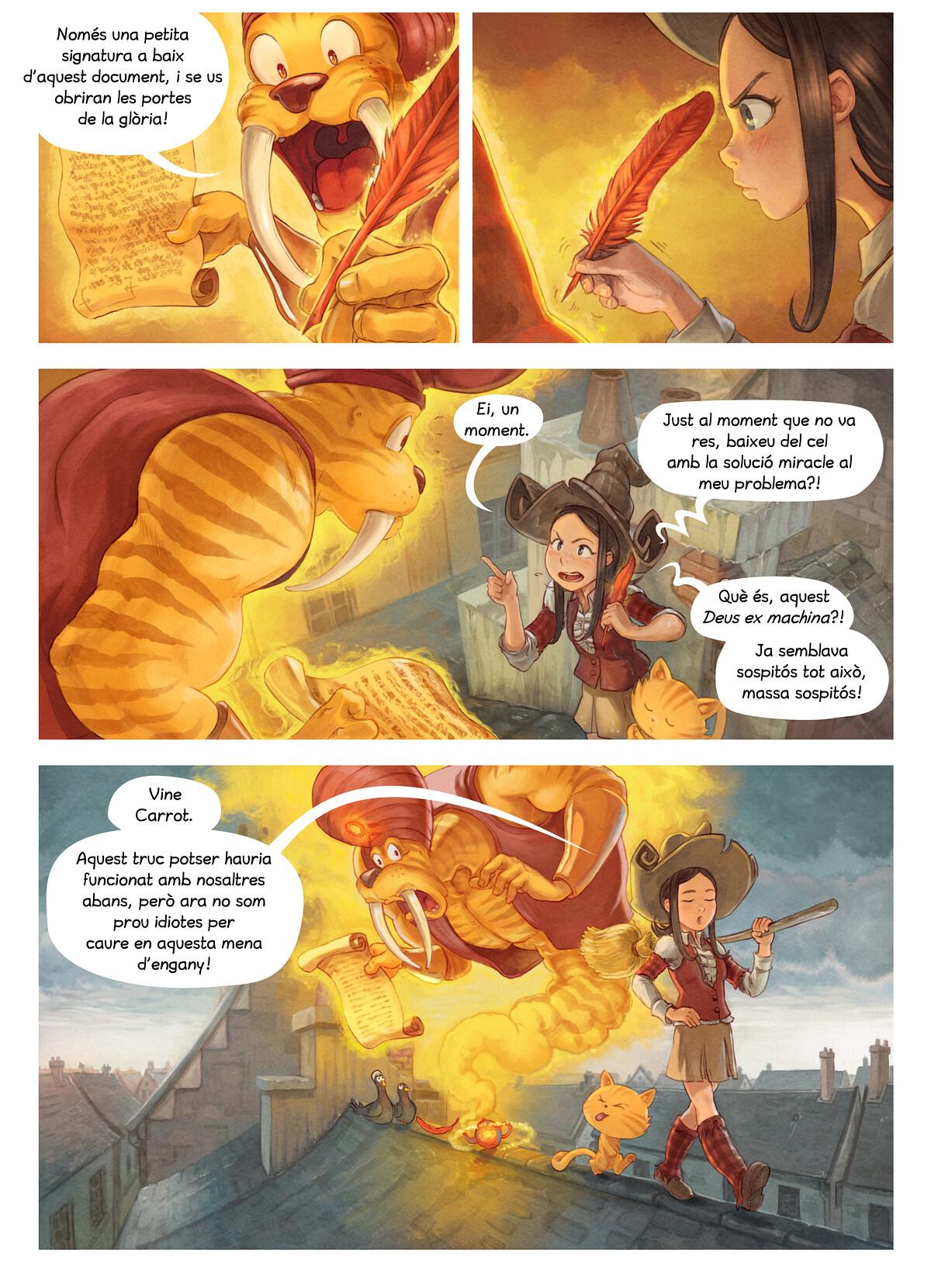A webcomic page of Pepper&Carrot, episodi 23 [ca], pàgina 5