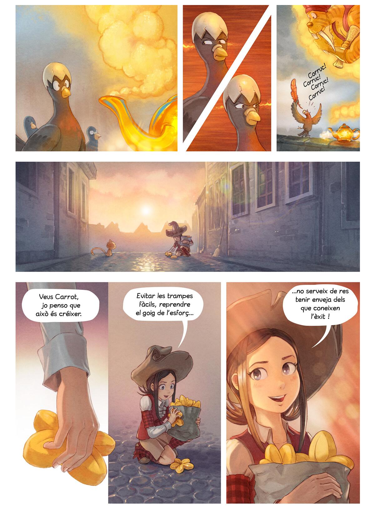 A webcomic page of Pepper&Carrot, episodi 23 [ca], pàgina 6