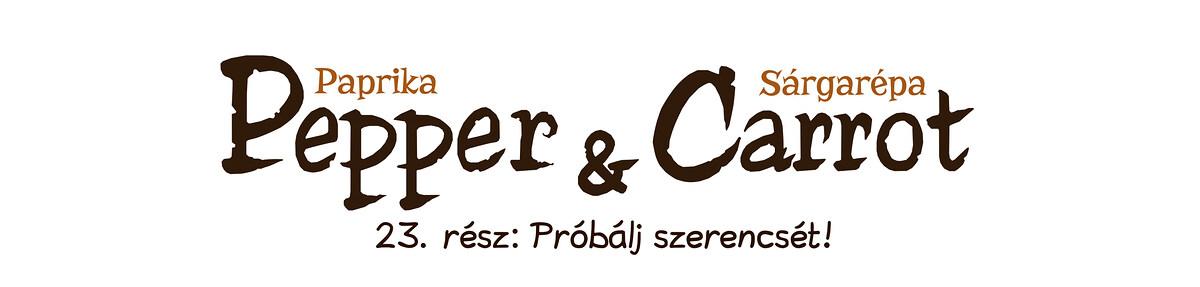 A webcomic page of Pepper&Carrot, epizód 23 [hu], oldal 0