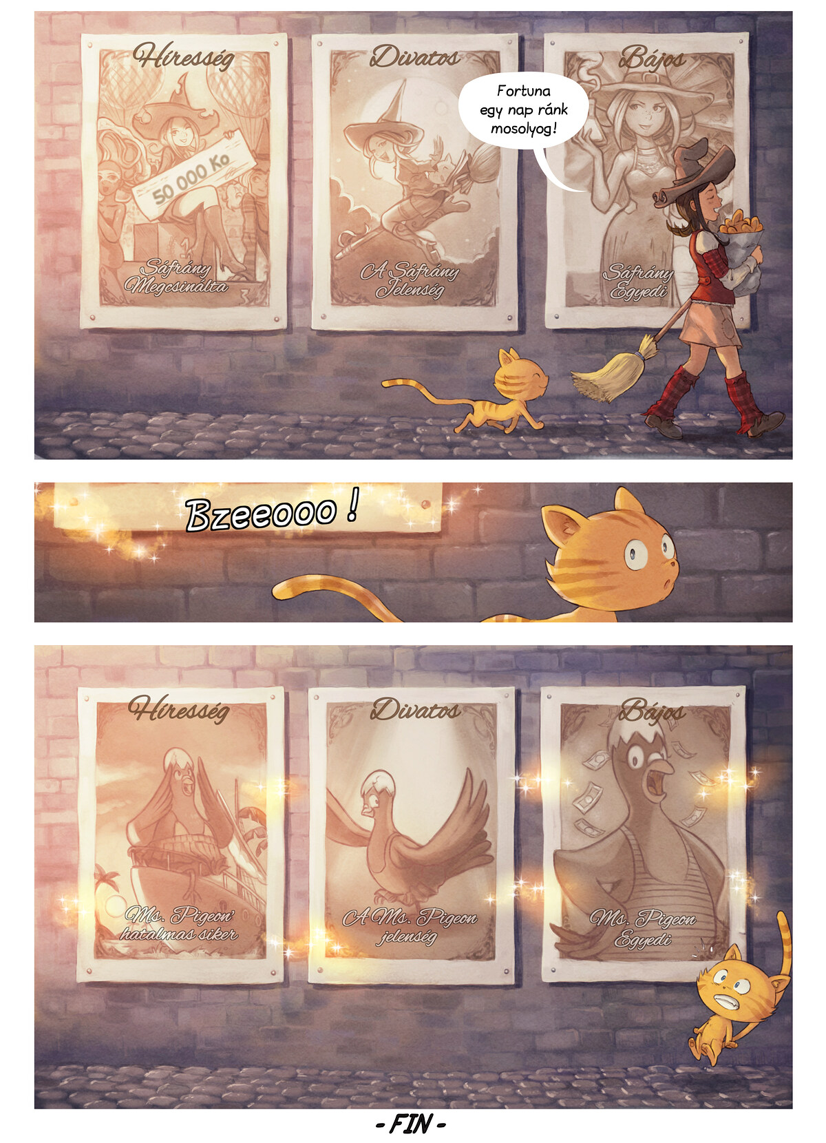 A webcomic page of Pepper&Carrot, epizód 23 [hu], oldal 7