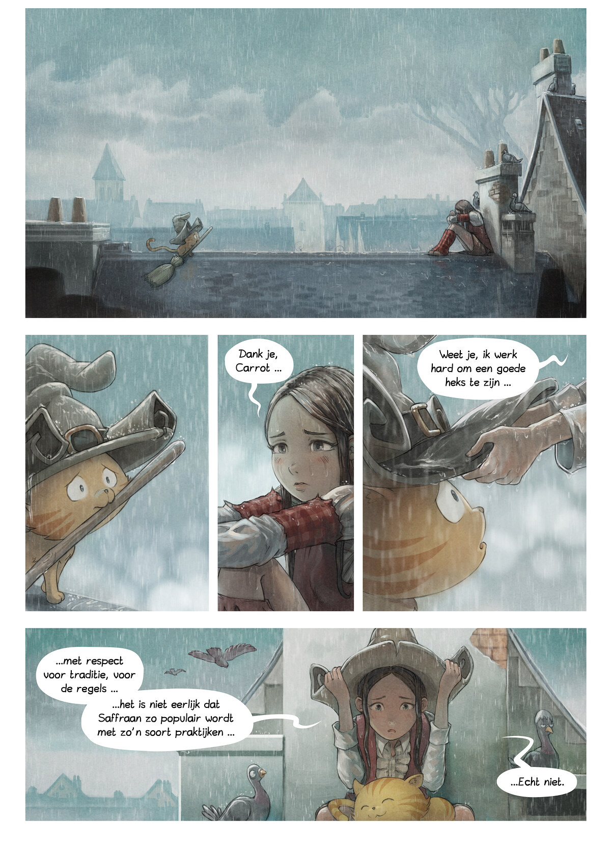 A webcomic page of Pepper&Carrot, aflevering 23 [nl], pagina 2