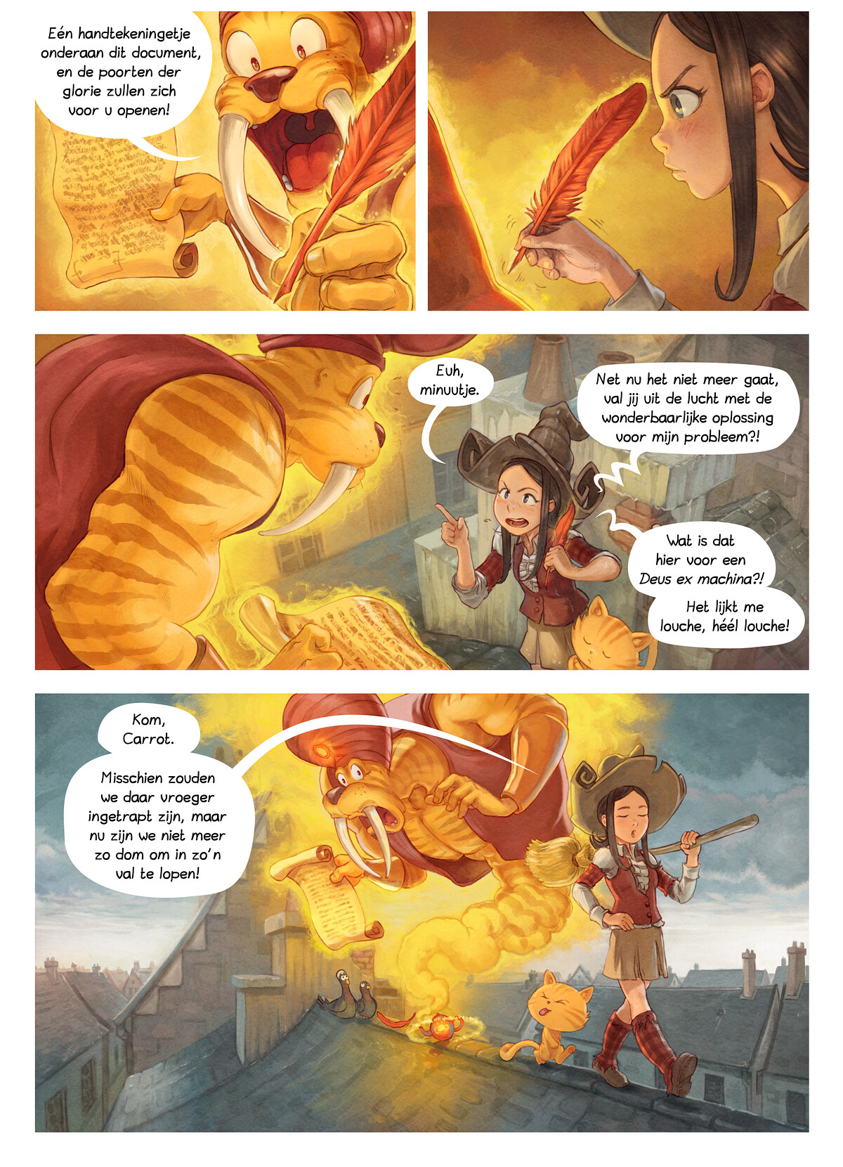 A webcomic page of Pepper&Carrot, aflevering 23 [nl], pagina 5