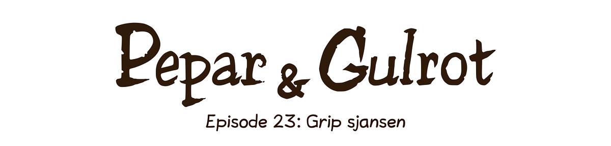Episode 23: Grip sjansen
