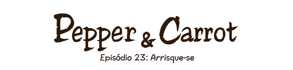 A webcomic page of Pepper&Carrot, episódio 23 [pt], página 0