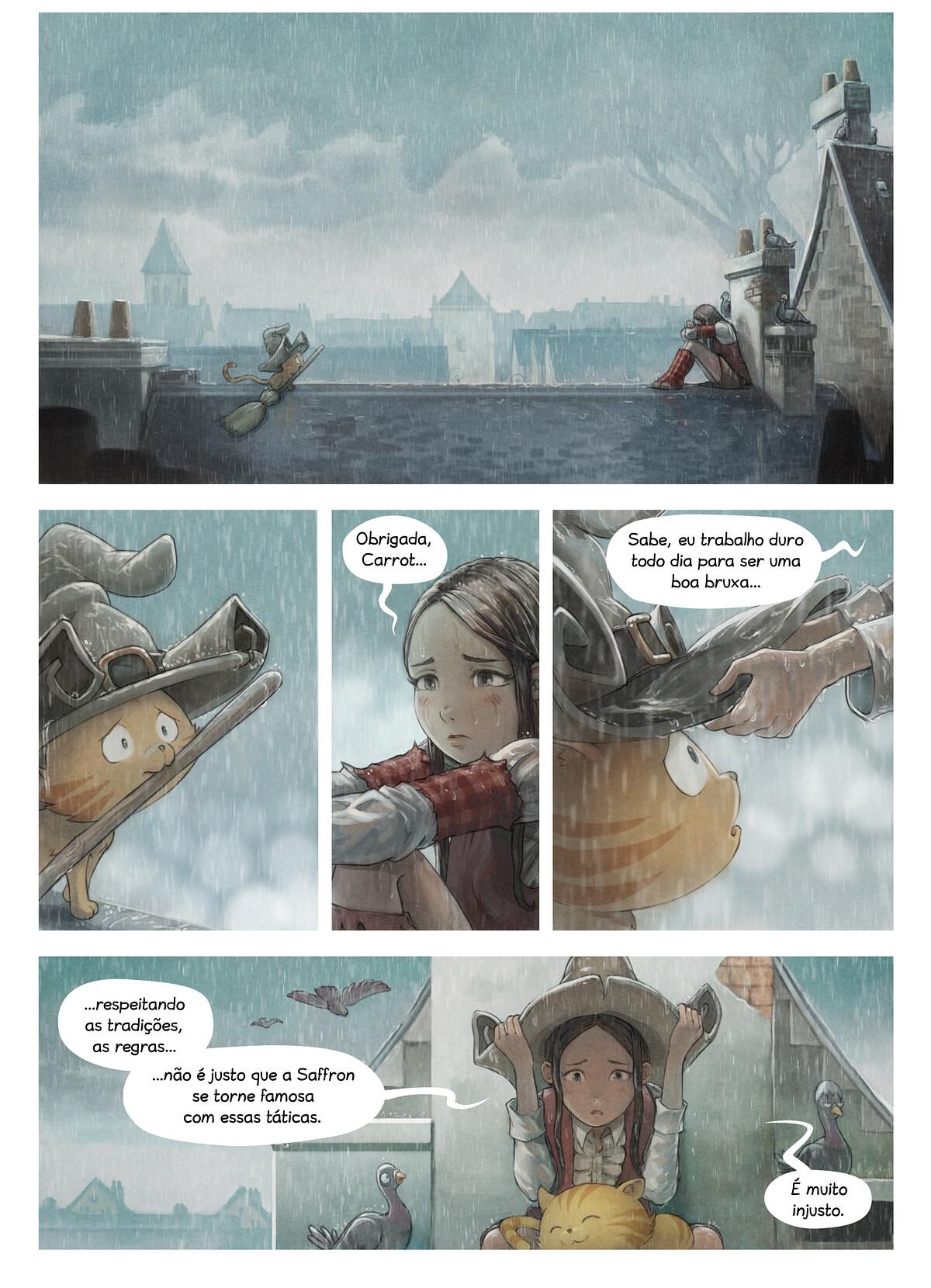 A webcomic page of Pepper&Carrot, episódio 23 [pt], página 2
