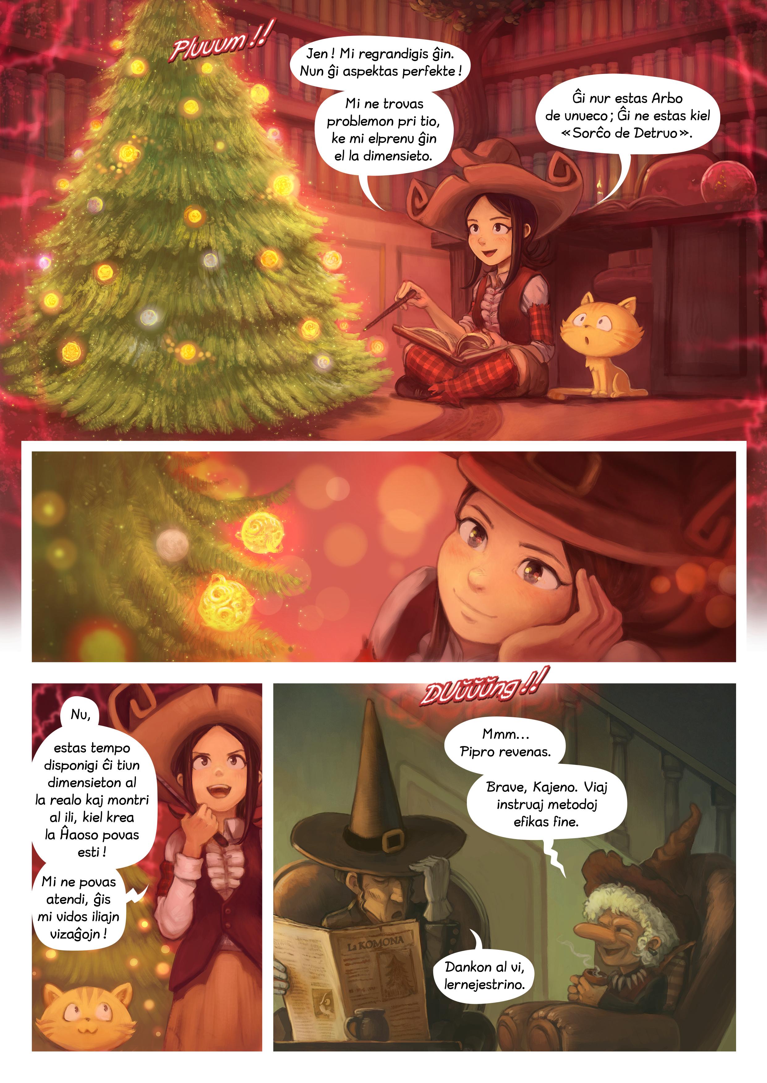 A webcomic page of Pepper&Carrot, rakonto 24 [eo], paĝo 5