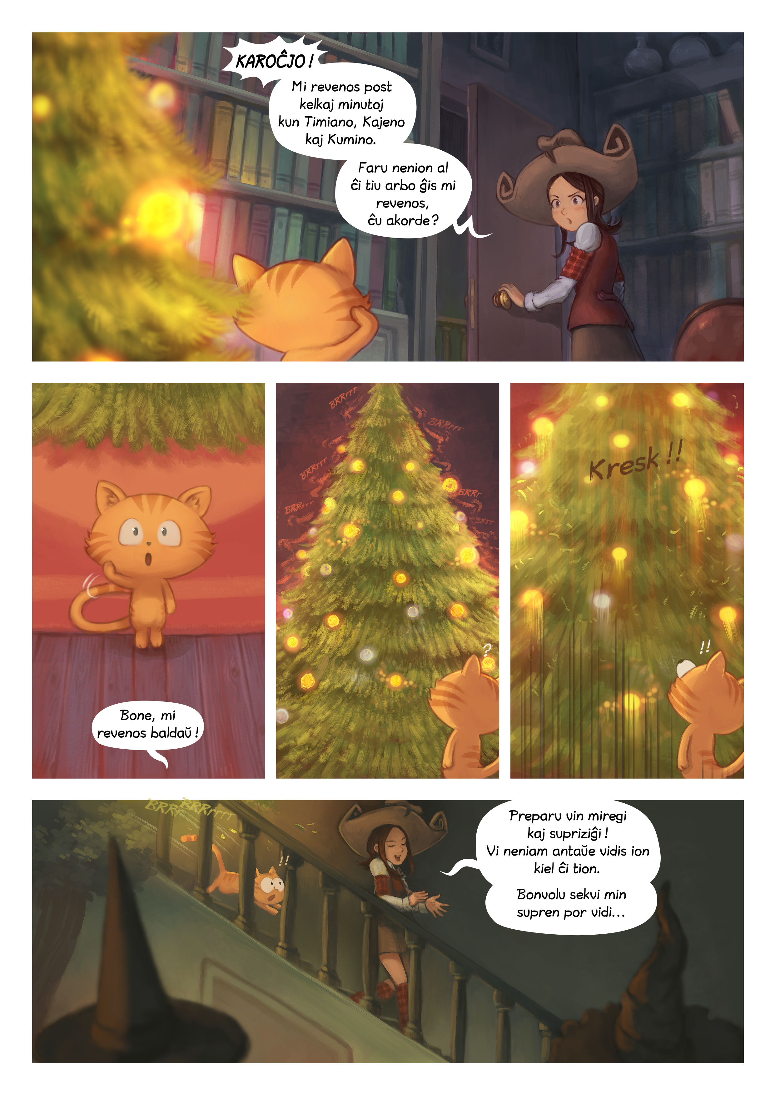 A webcomic page of Pepper&Carrot, rakonto 24 [eo], paĝo 6