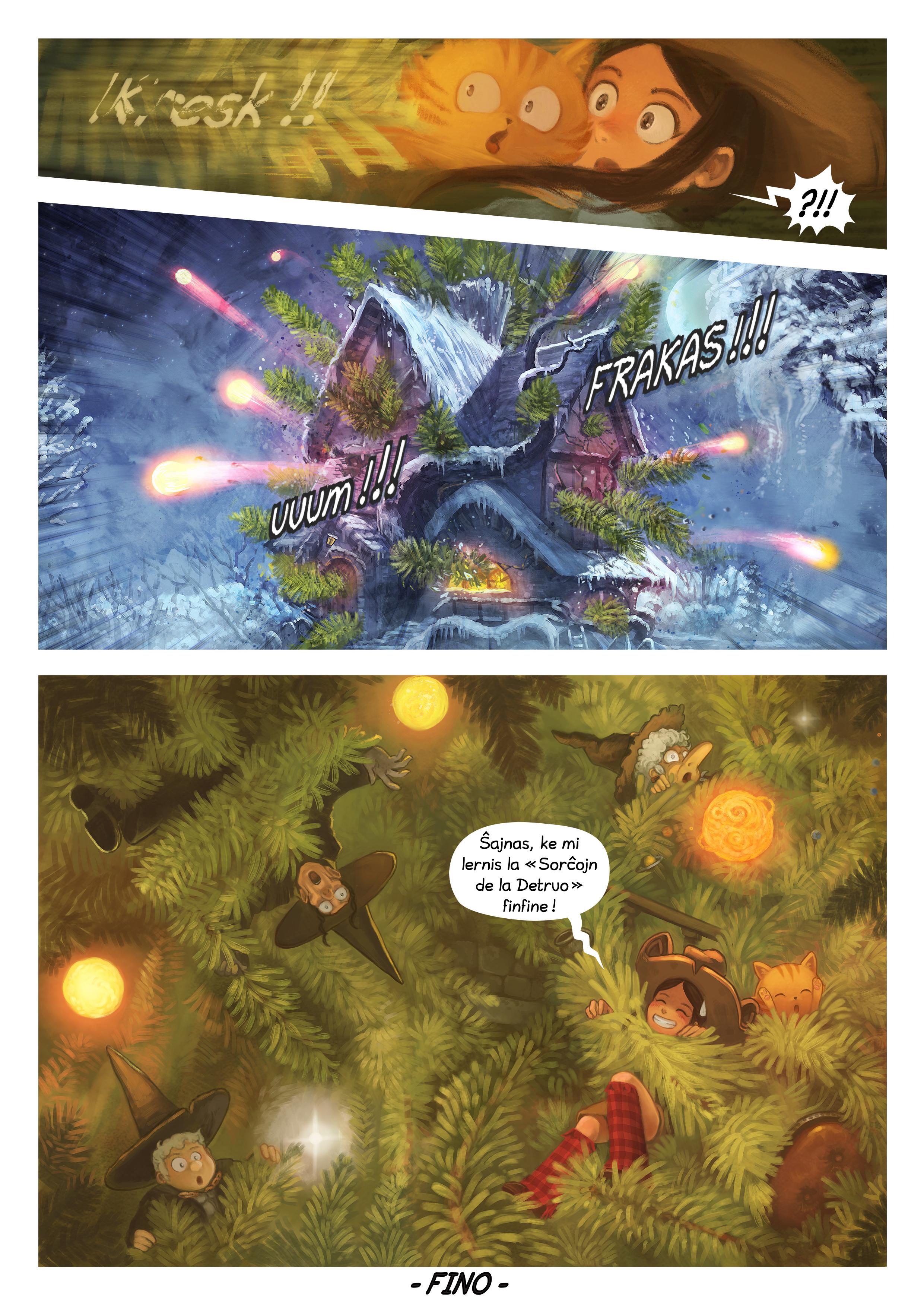 A webcomic page of Pepper&Carrot, rakonto 24 [eo], paĝo 7