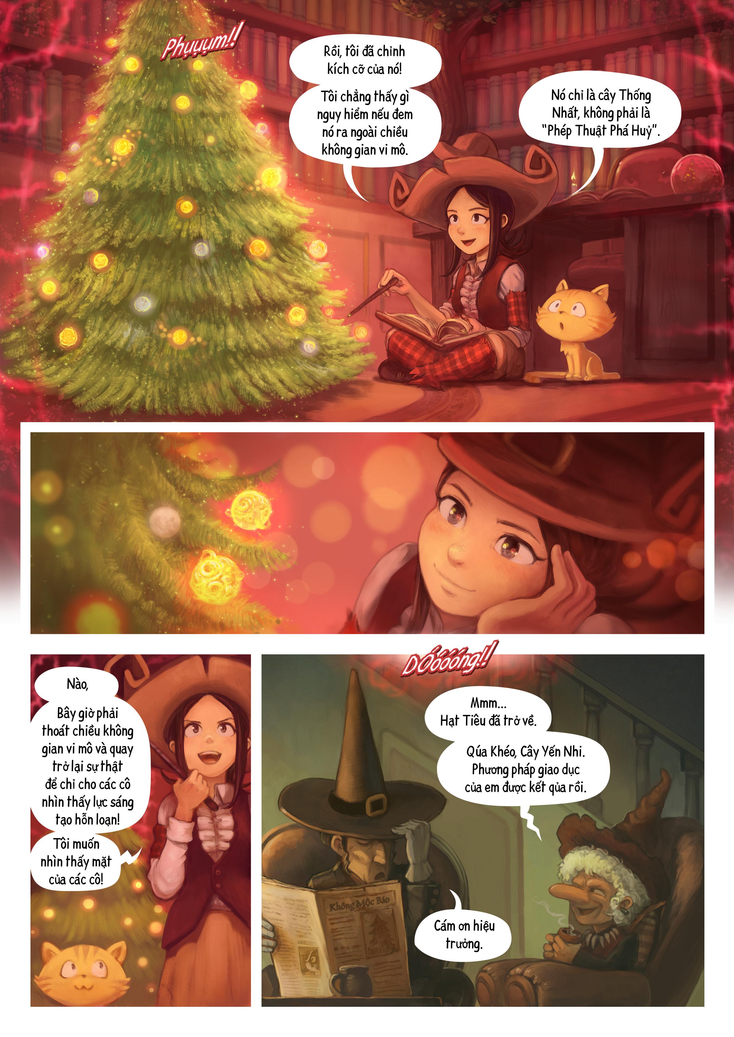 A webcomic page of Pepper&Carrot, Tập 24 [vi], trang 5