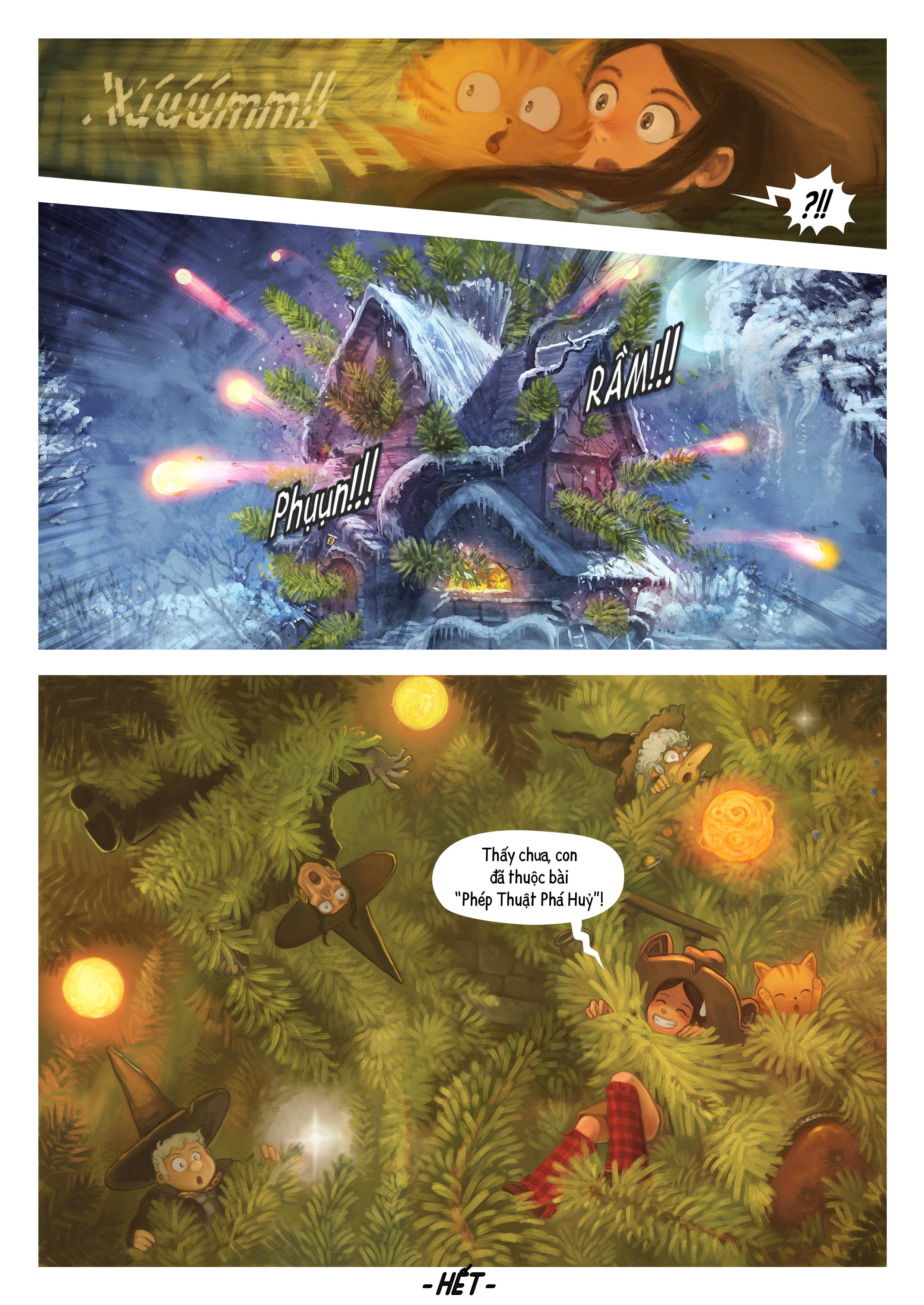 A webcomic page of Pepper&Carrot, Tập 24 [vi], trang 7