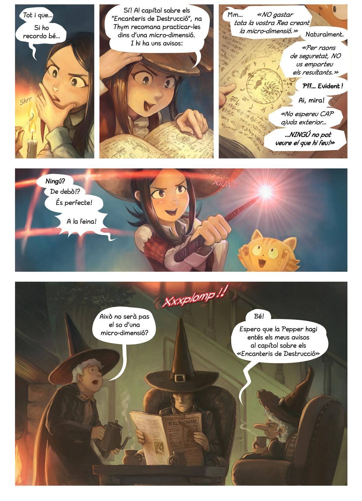 A webcomic page of Pepper&Carrot, episodi 24 [ca], pàgina 3